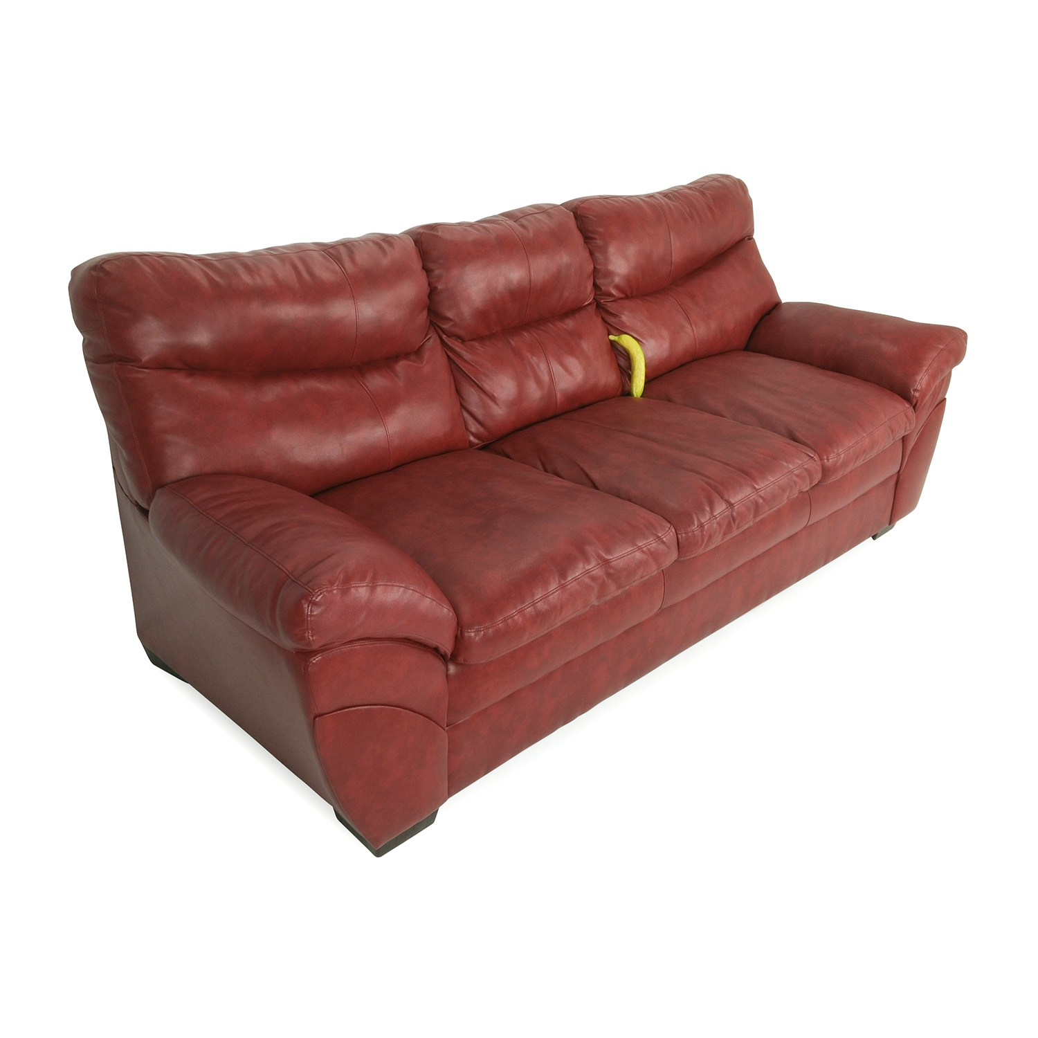 Modern Red Leather Sofa Classic Sofas