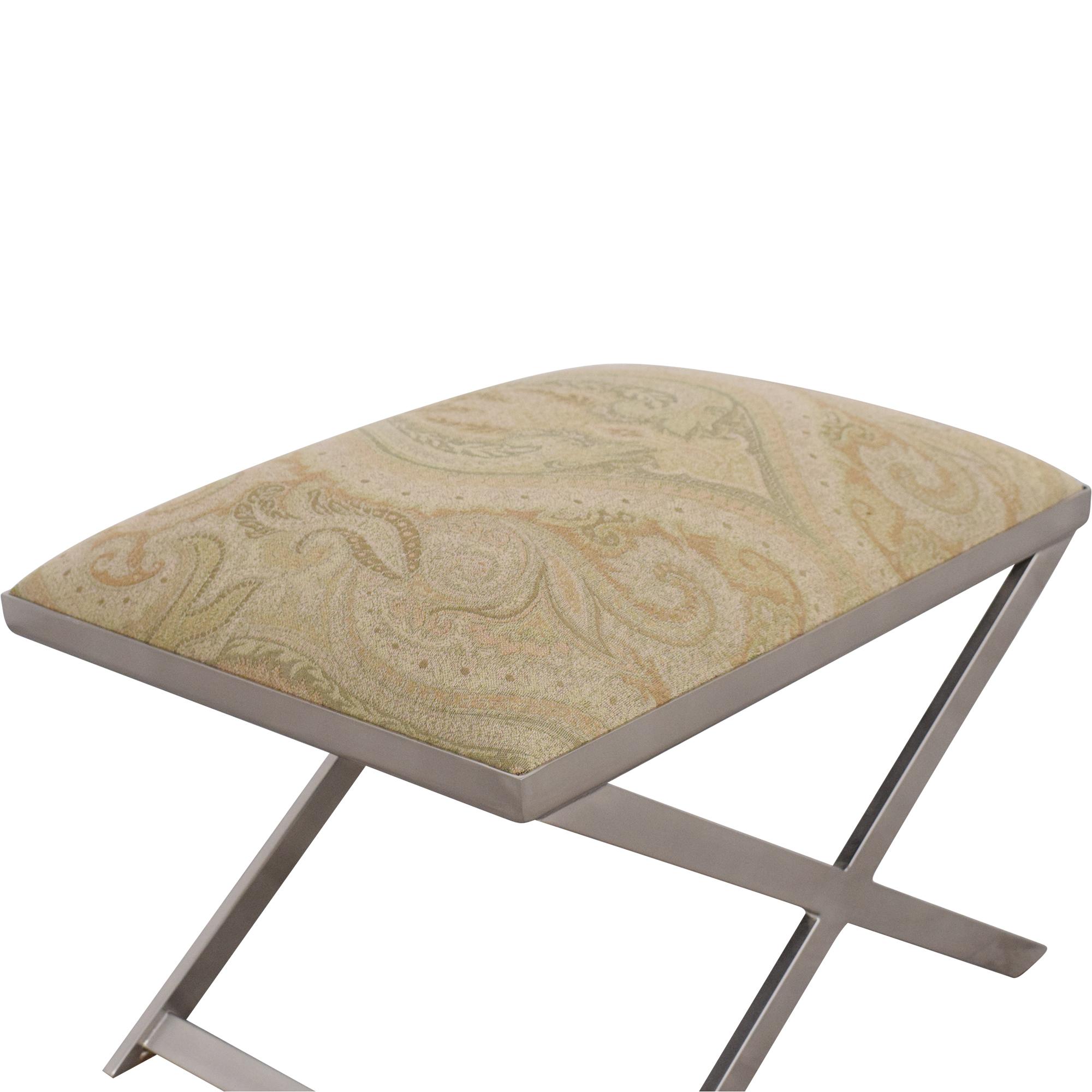 Ethan Allen Xanadu Bench / Chairs