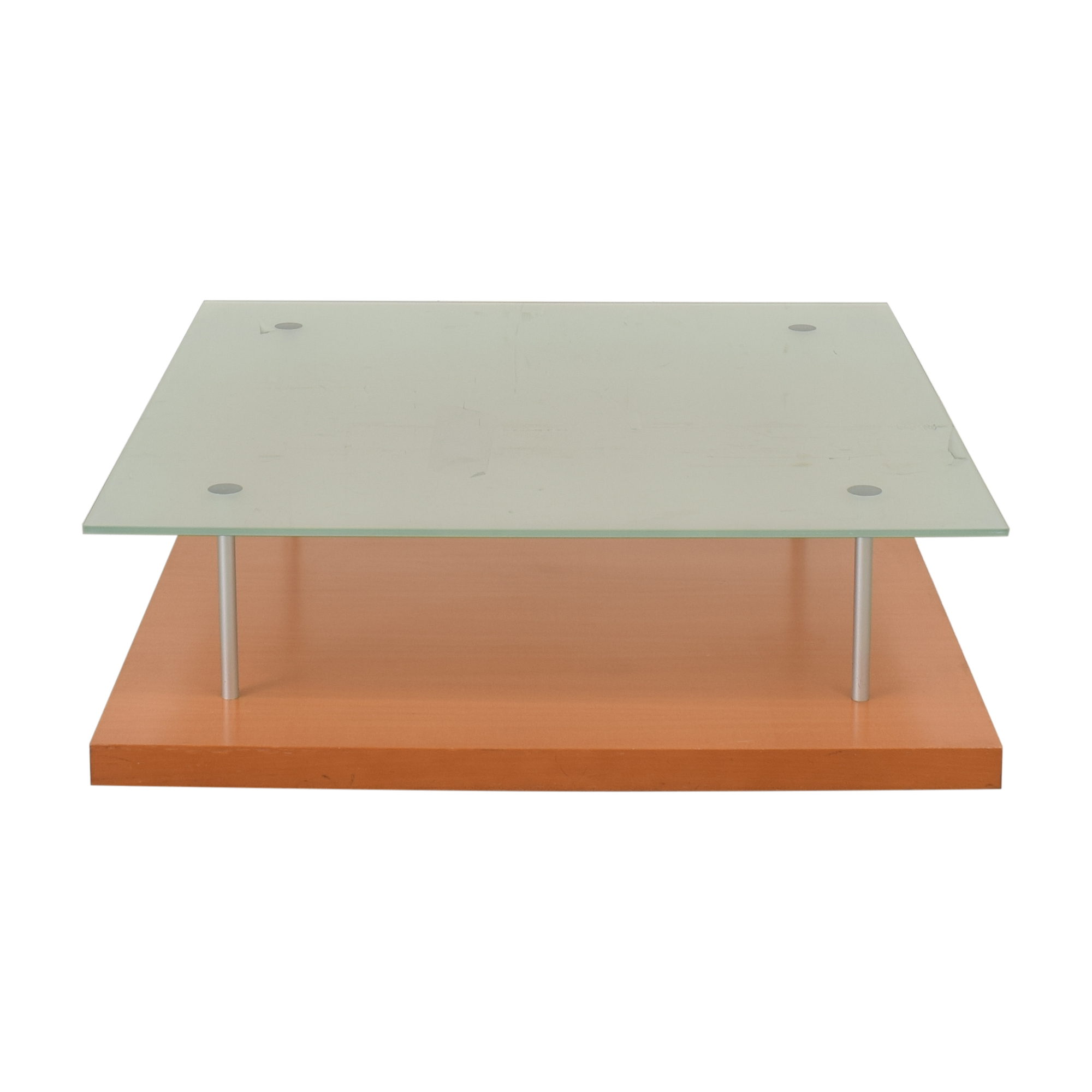 shop Ligne Roset Pascal Mourgue Square Glass Coffee Table Ligne Roset Tables