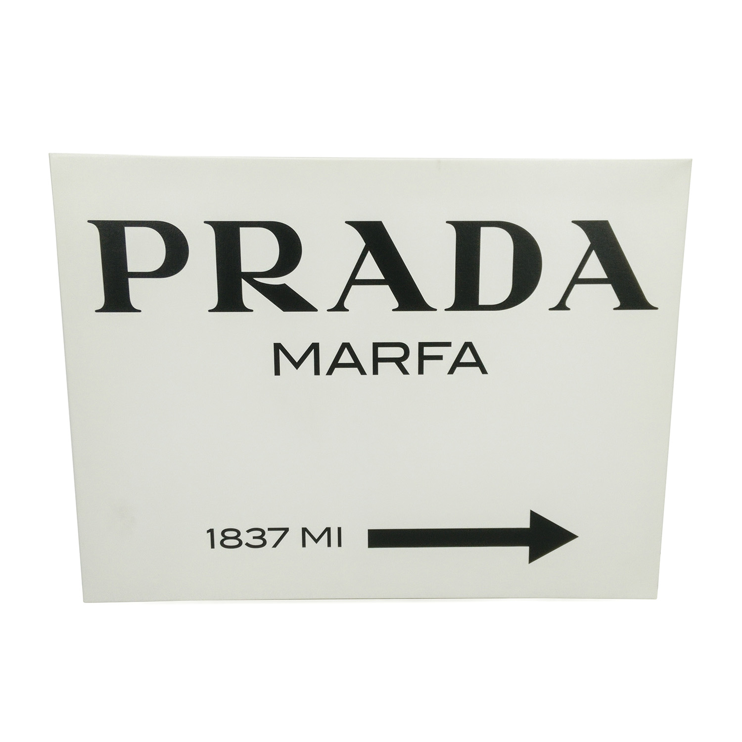 Prada Marfa Canvas from Gossip Girl / Decor