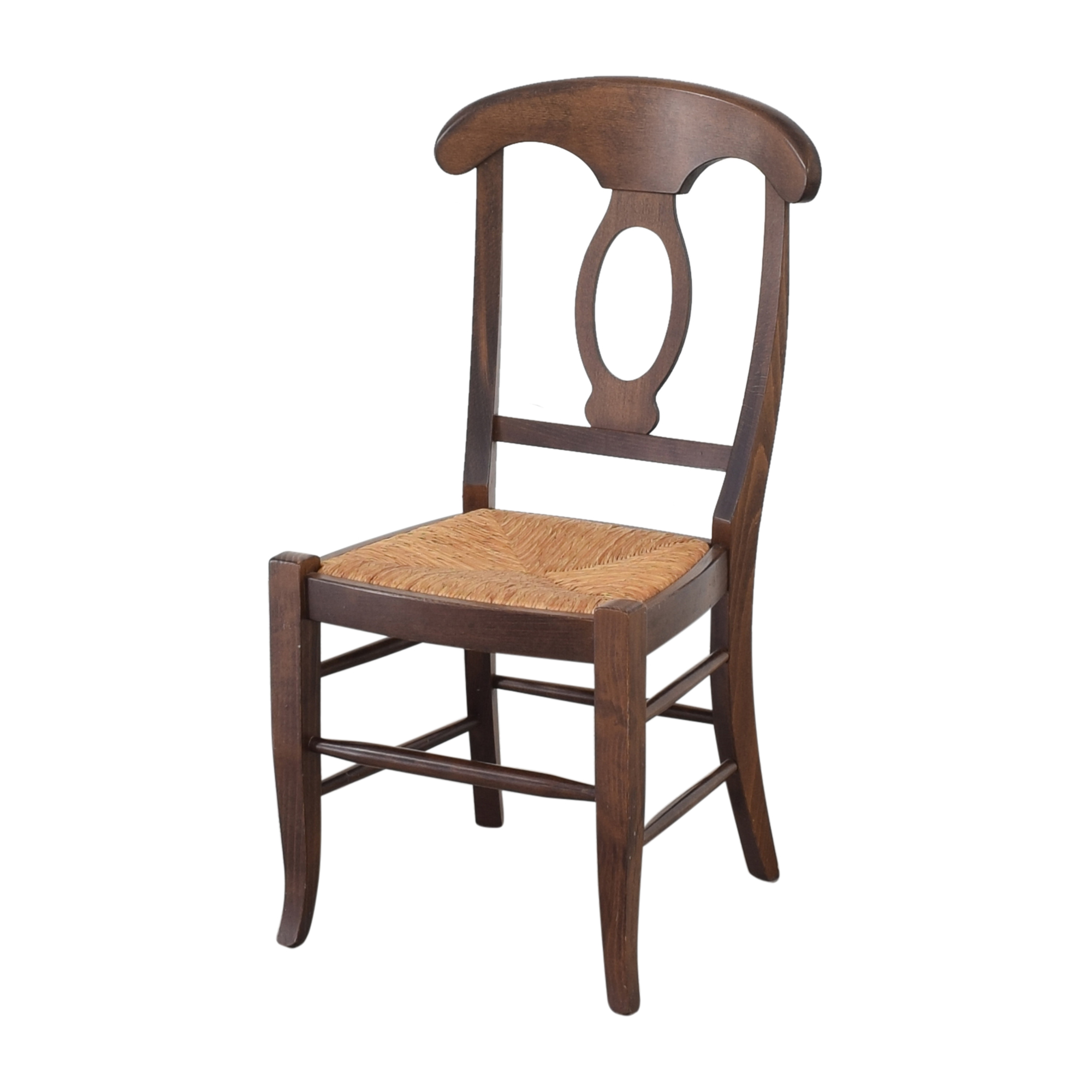 Pottery Barn Pottery Barn Napoleon Dining Side Chairs brown