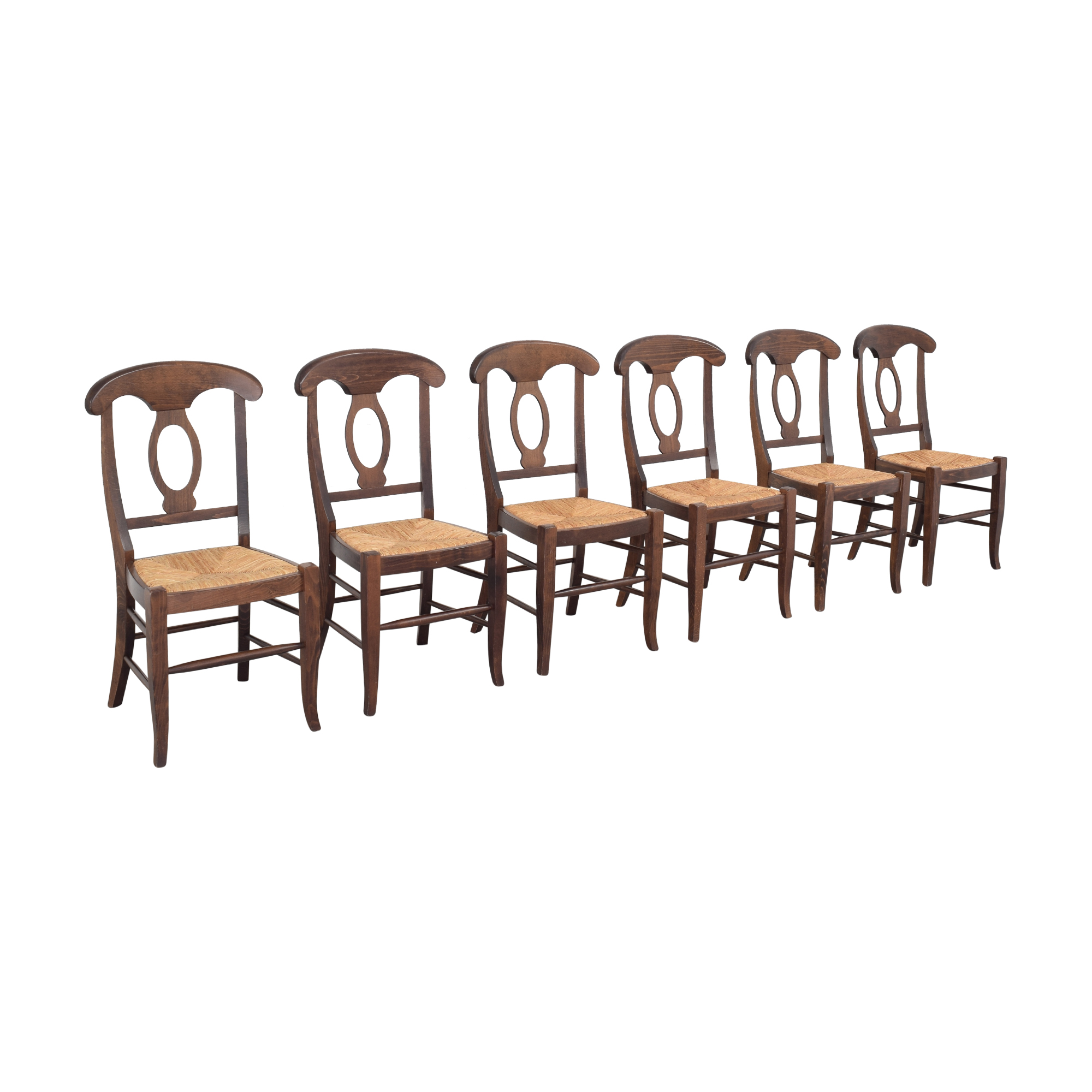 Pottery Barn Pottery Barn Napoleon Dining Side Chairs dimensions