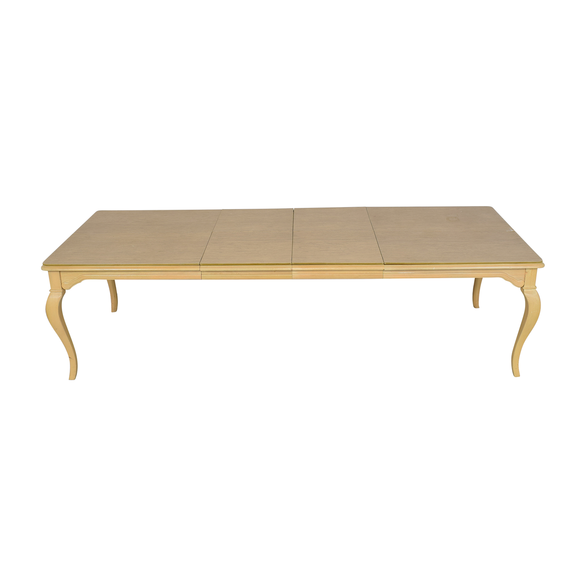 Thomasville Thomasville Extending Cabriole Dining Table on sale