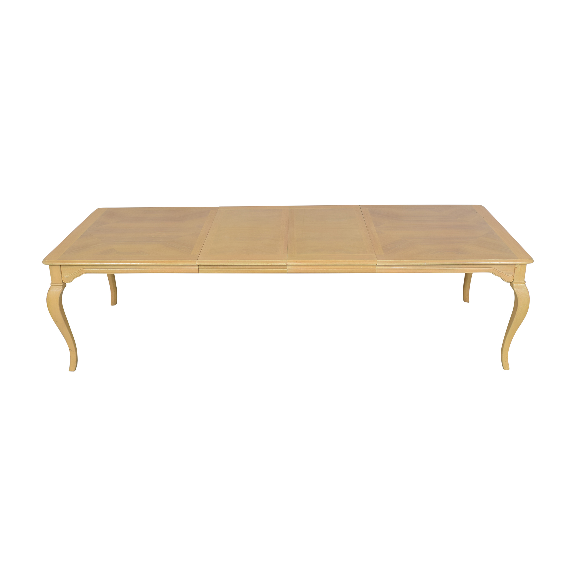 shop Thomasville Extending Cabriole Dining Table Thomasville Dinner Tables