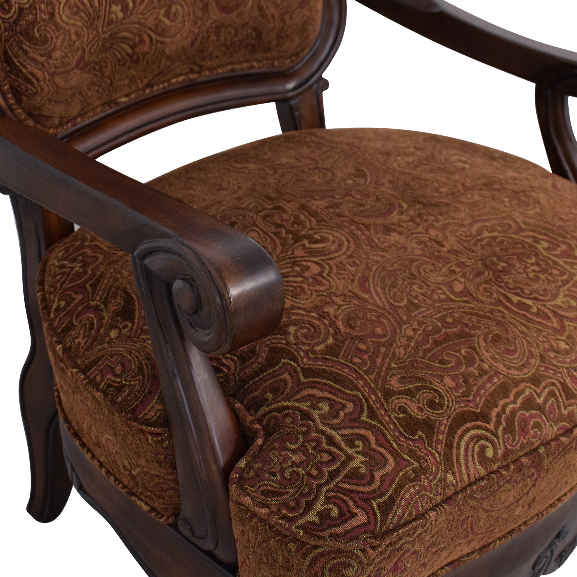 Ashley Furniture Ashley Signature North Shore Showood Accent Chair Accent Chairs