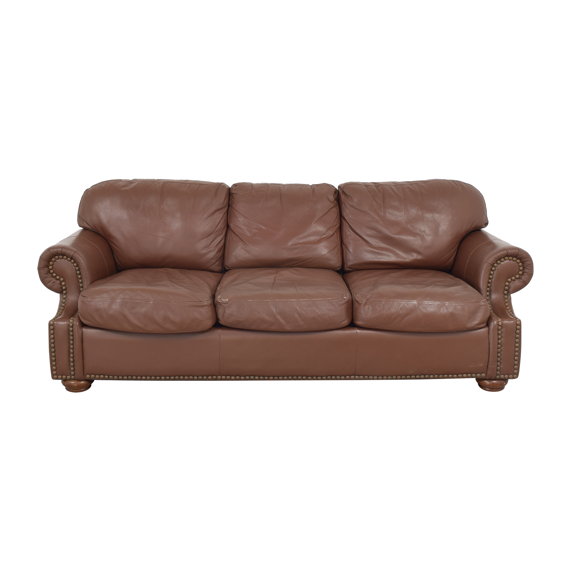 shop Arhaus Arhaus Rolled Arm Nailhead Trim Sofa online
