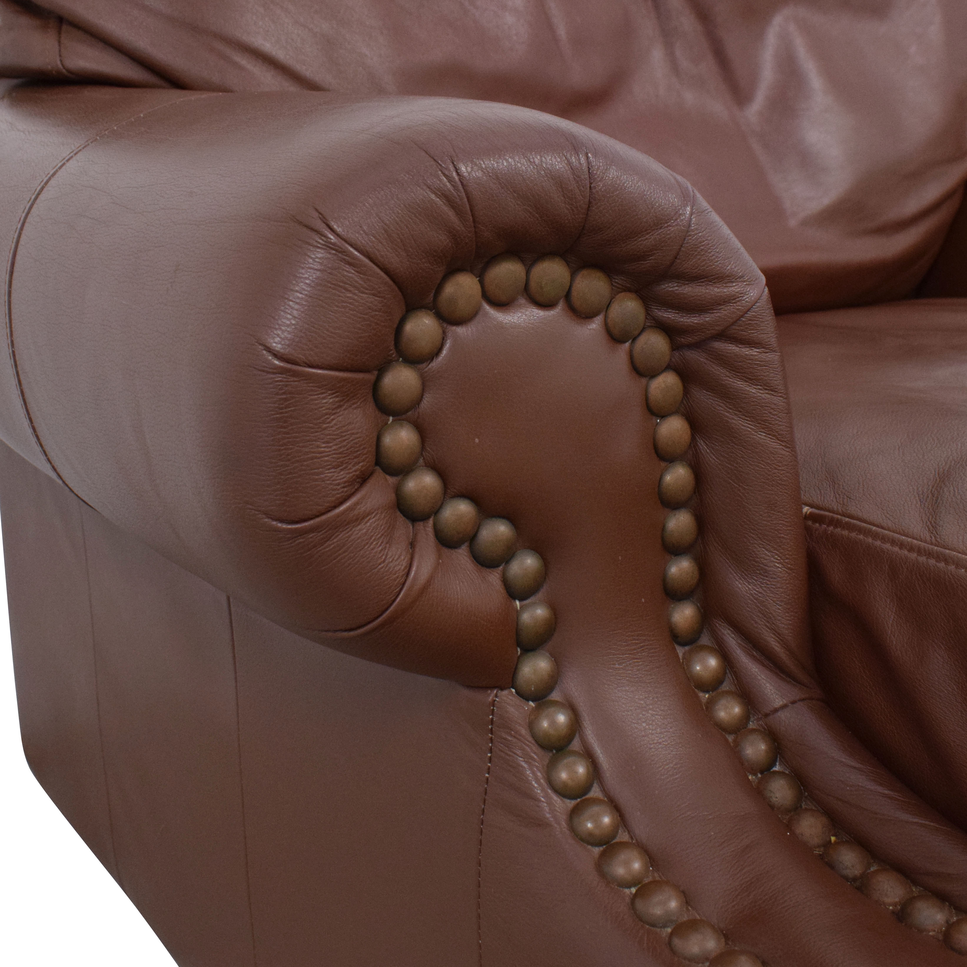 Arhaus Nailhead Trim Club Chair / Chairs