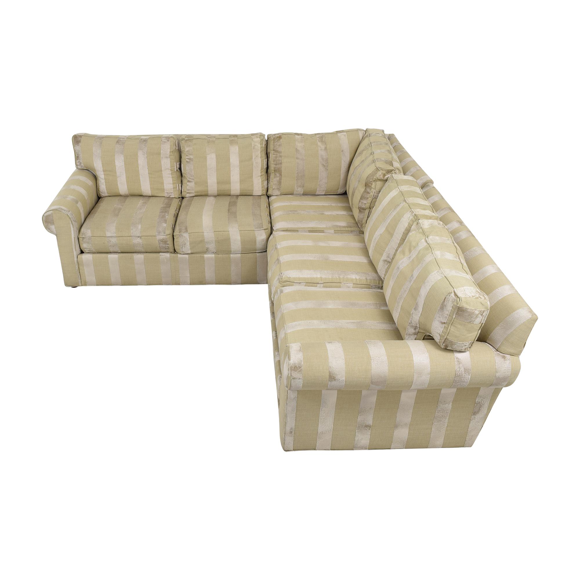 Ethan Allen Ethan Allen Bennet Sectional Sofa ct