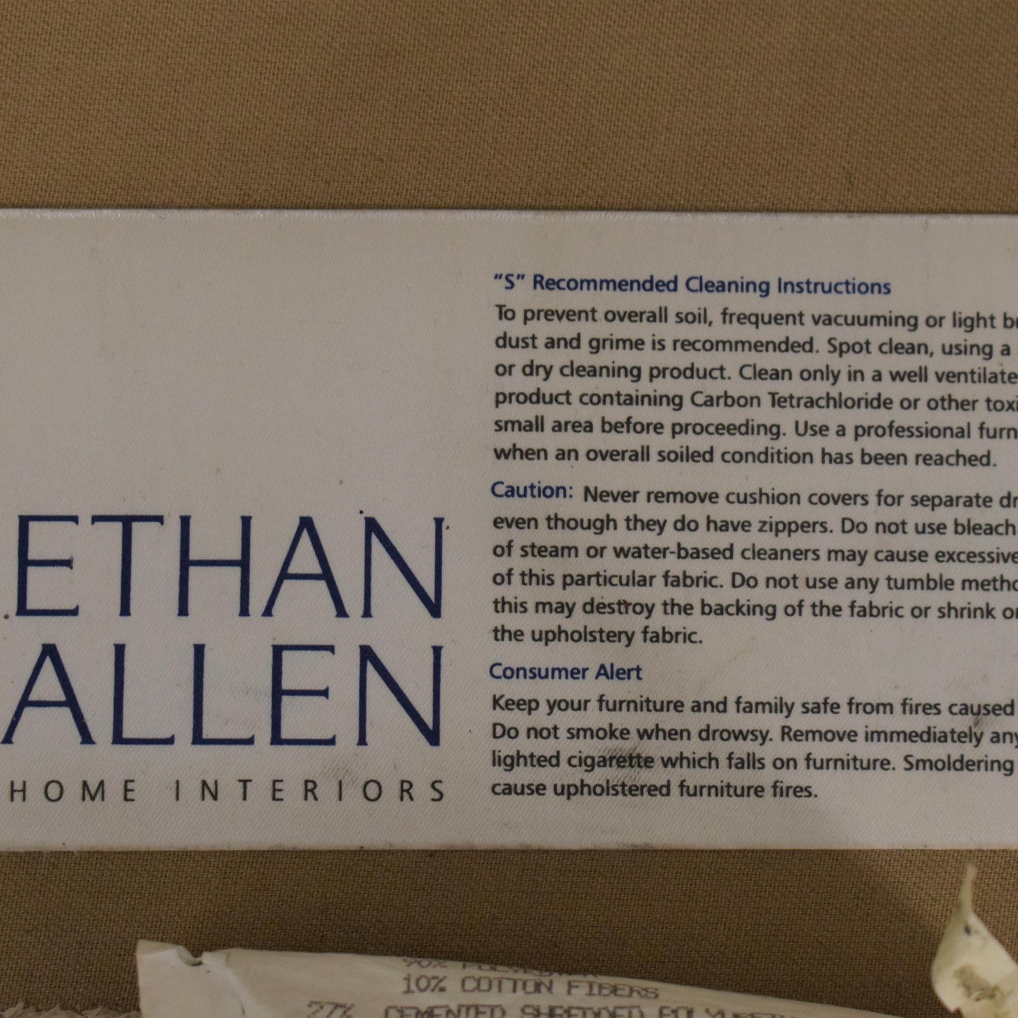 Ethan Allen Ethan Allen Bennet Sectional Sofa Sectionals