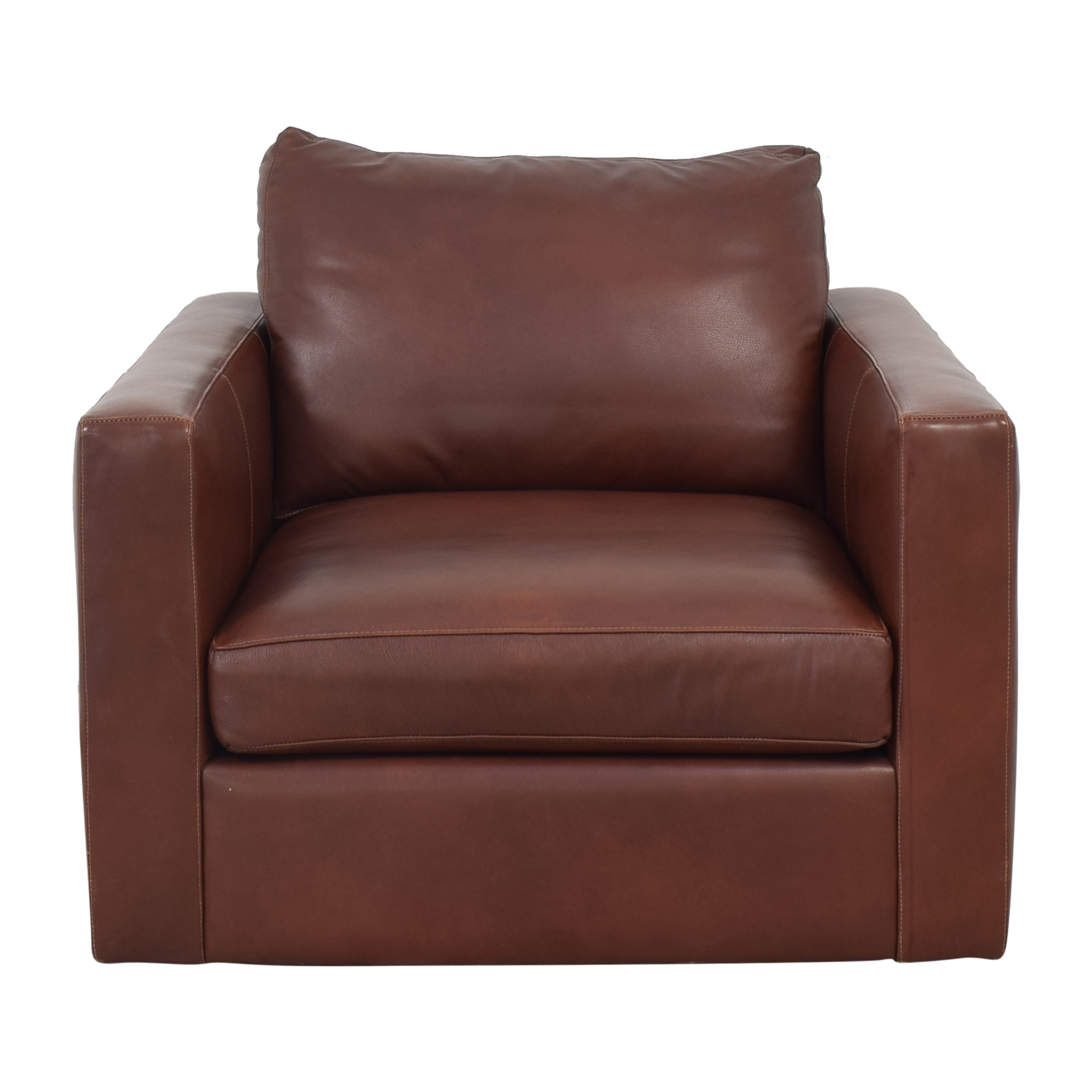ABC Carpet & Home Cobble Hill Swivel Chair sale