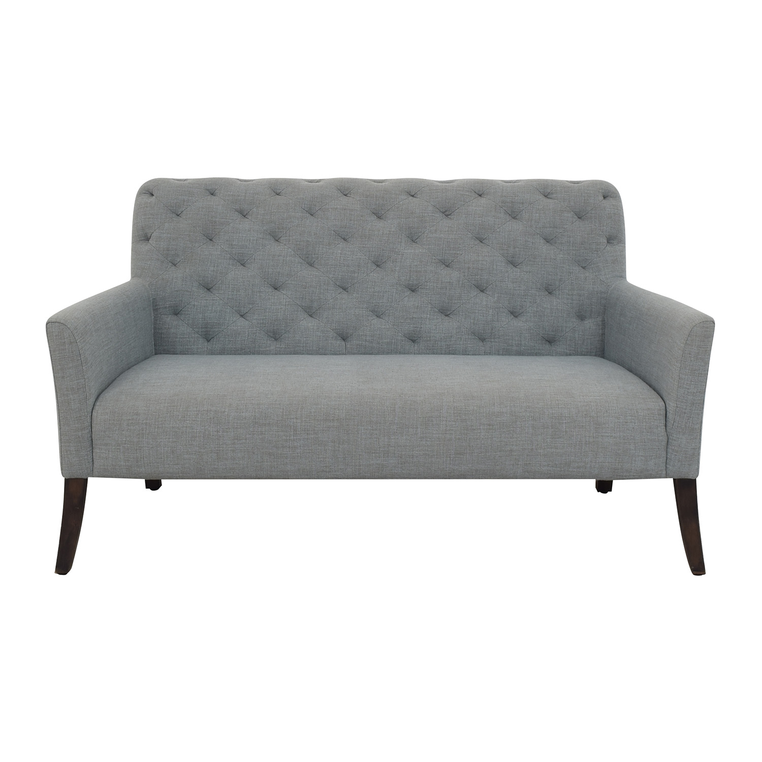 buy West Elm Elton Settee West Elm Loveseats