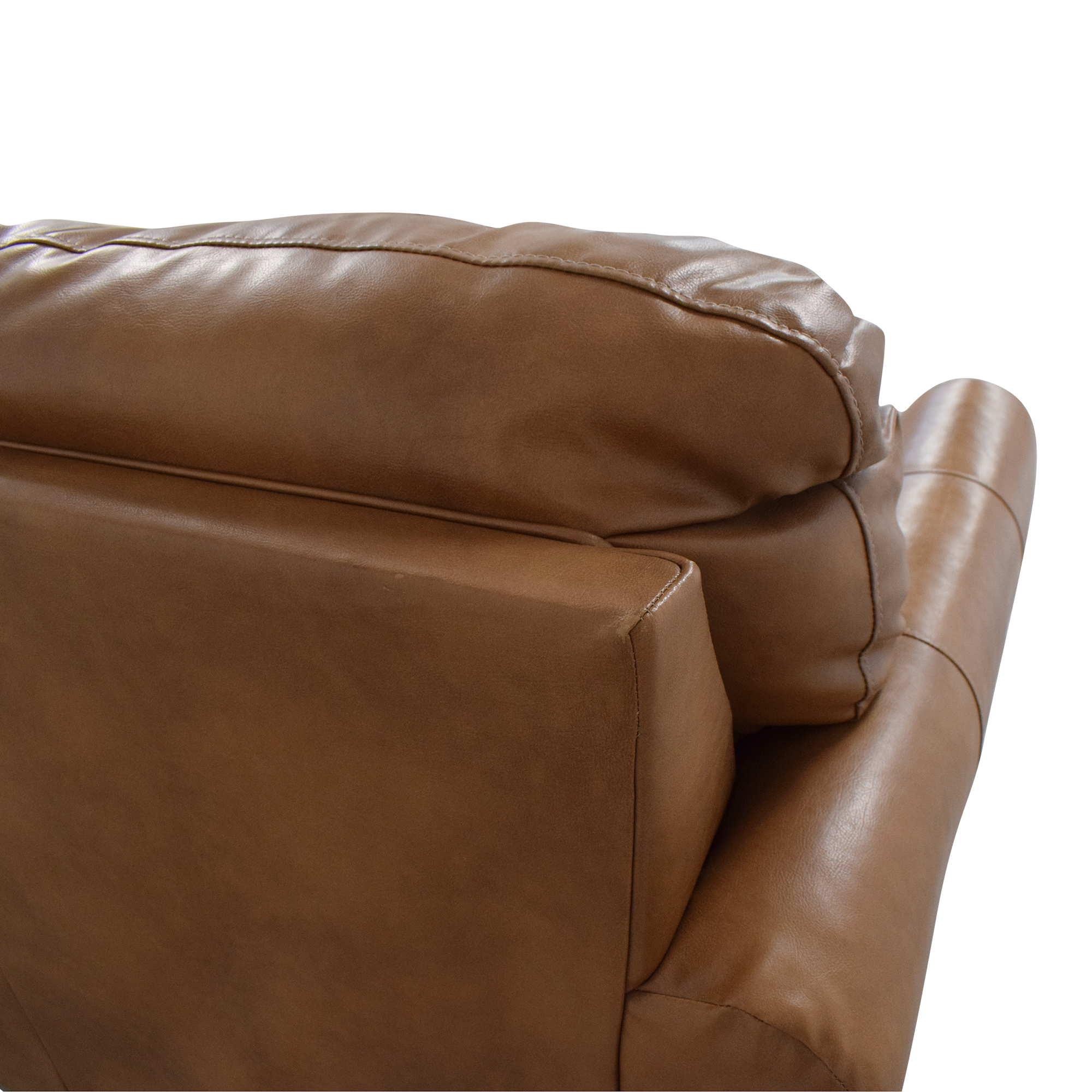 Overstock Overstock Caramel Leather Twin Pull Out Sofa Sofa Beds