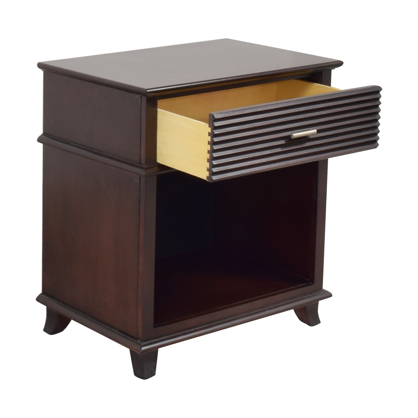 shop Lane Furniture Ribbed Drawer Nightstand Lane Furniture