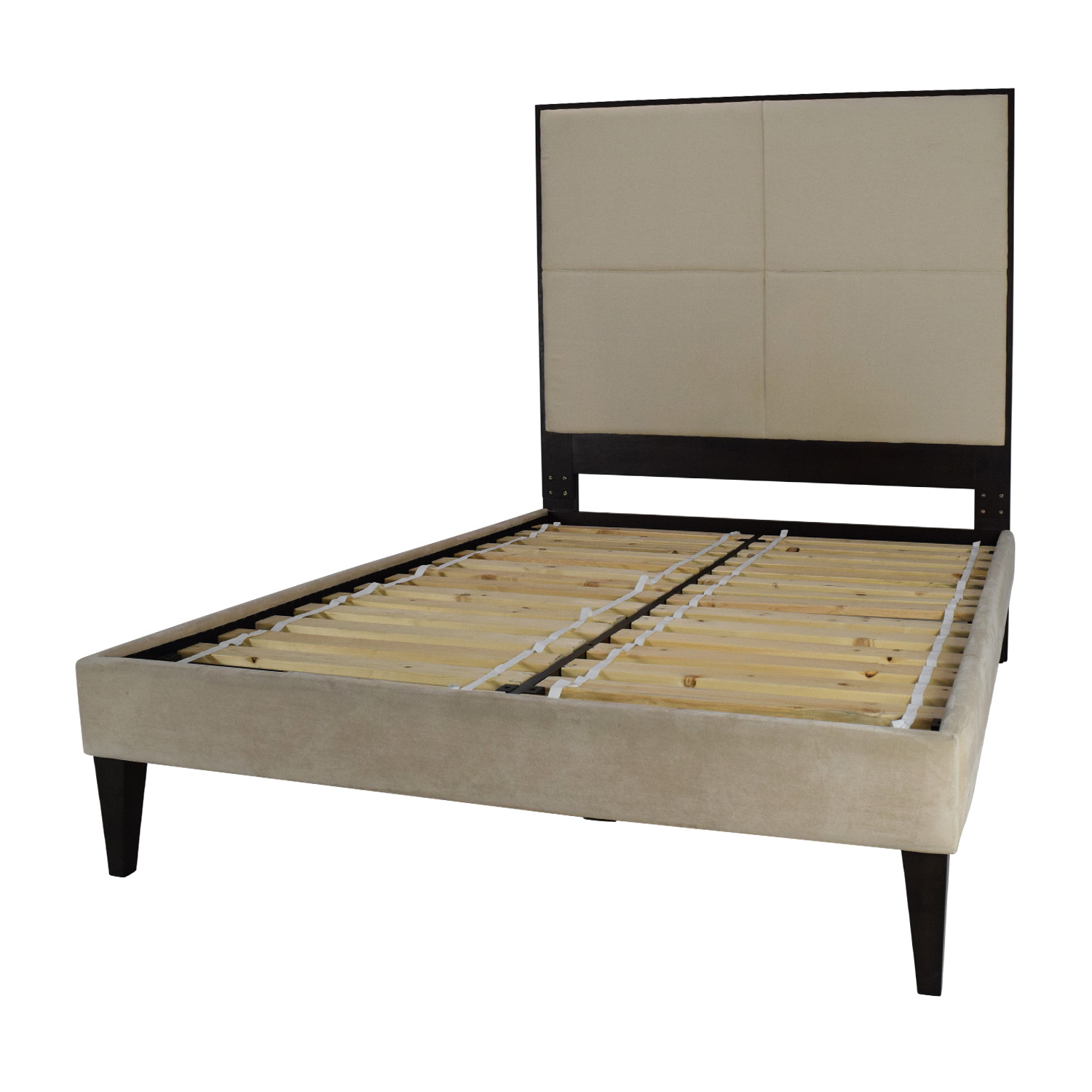 Full size beds crown comfort 8inch fullsize bed frame and for Full size bed frame