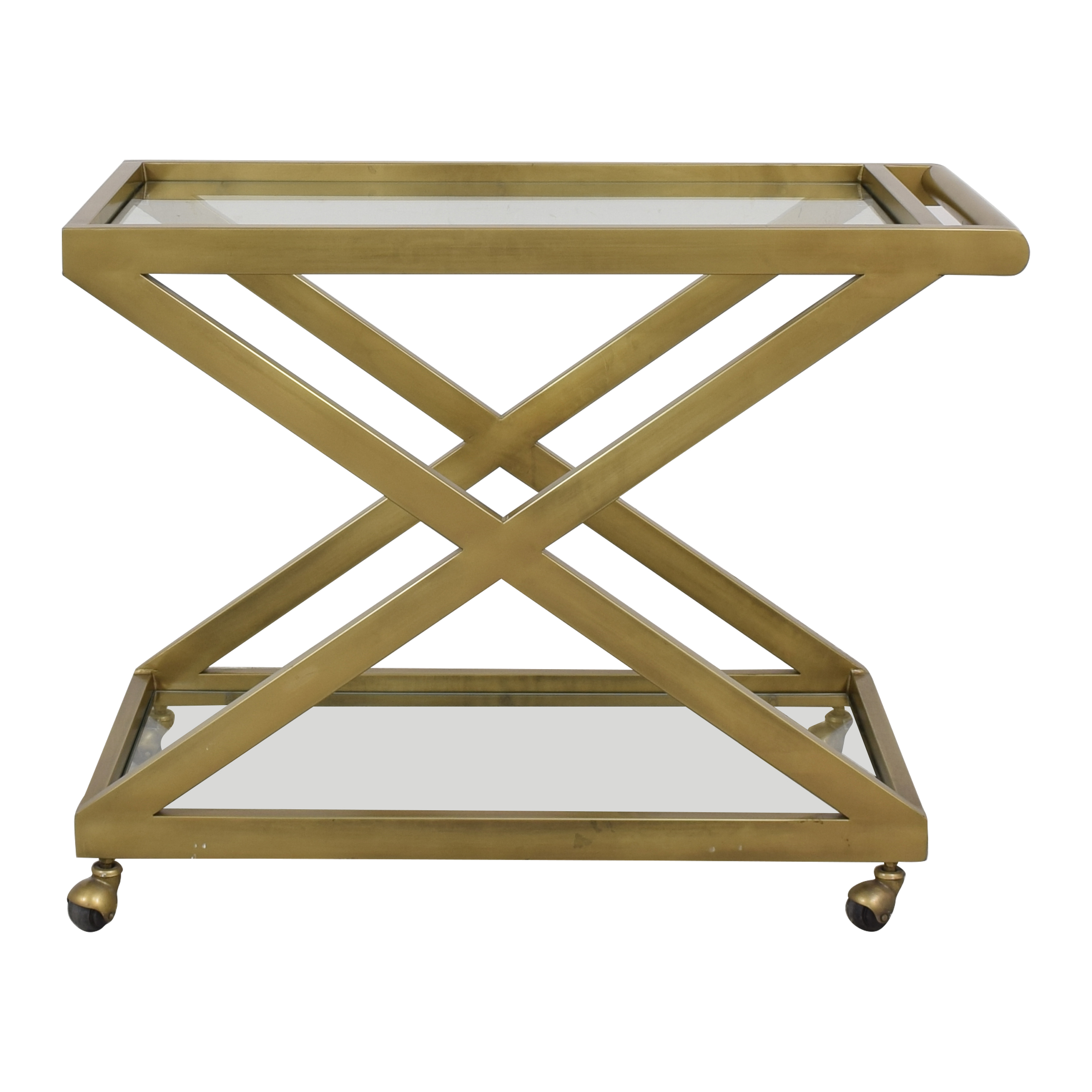 buy Restoration Hardware Restoration Hardware 1950's Milo Bar Cart online