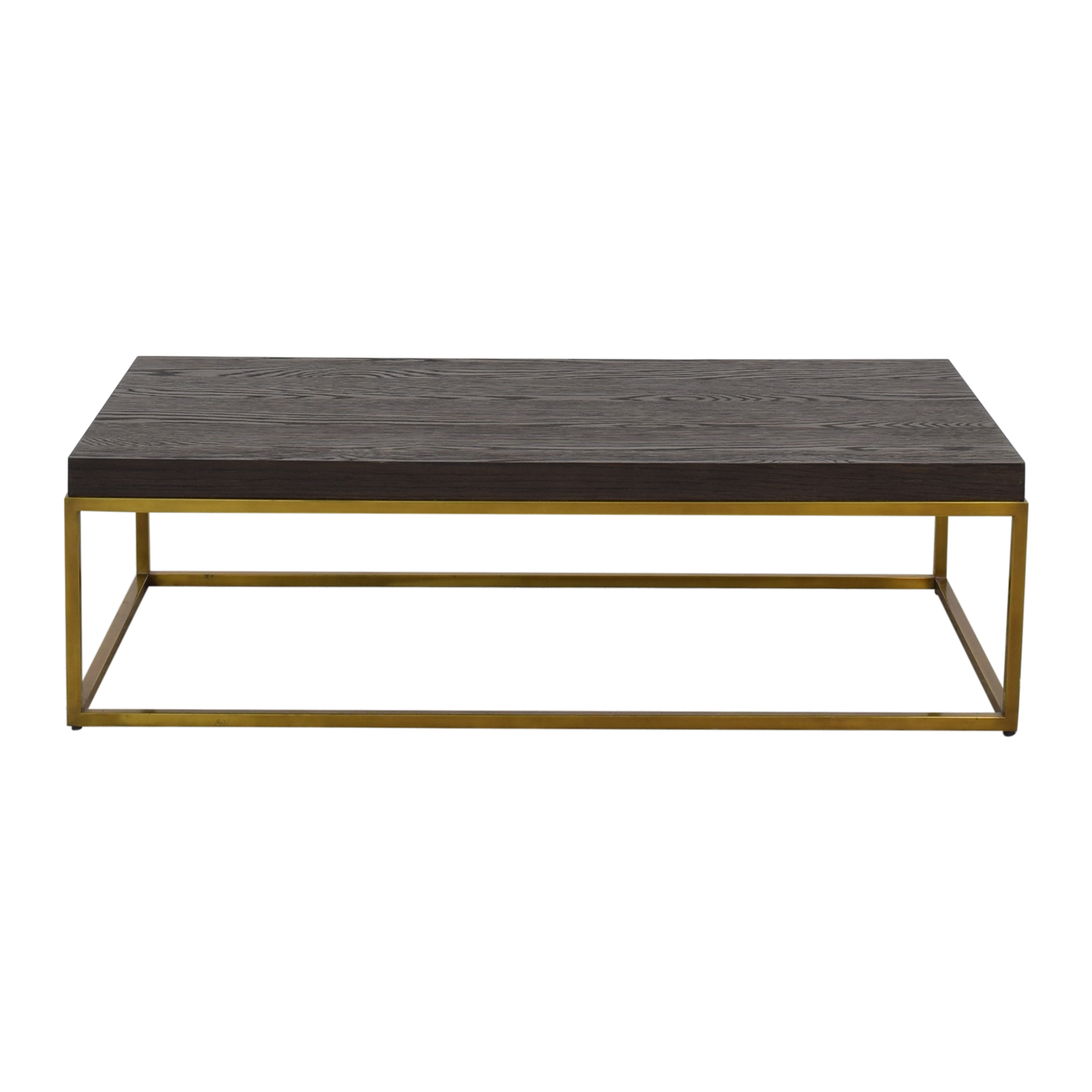Restoration Hardware Restoration Hardware Nicholas Oak Coffee Table ct