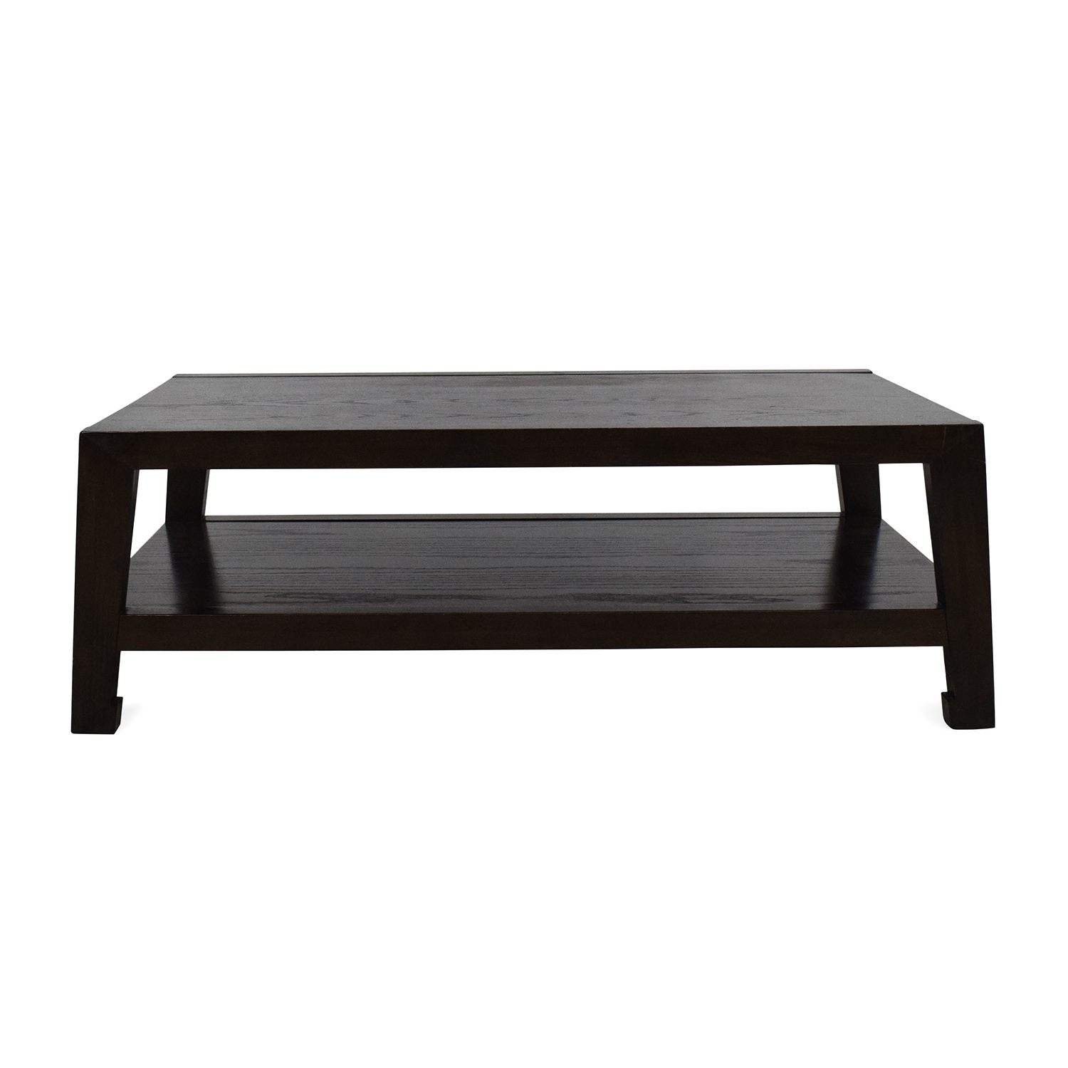 Dark  Wood Coffee Table Tables