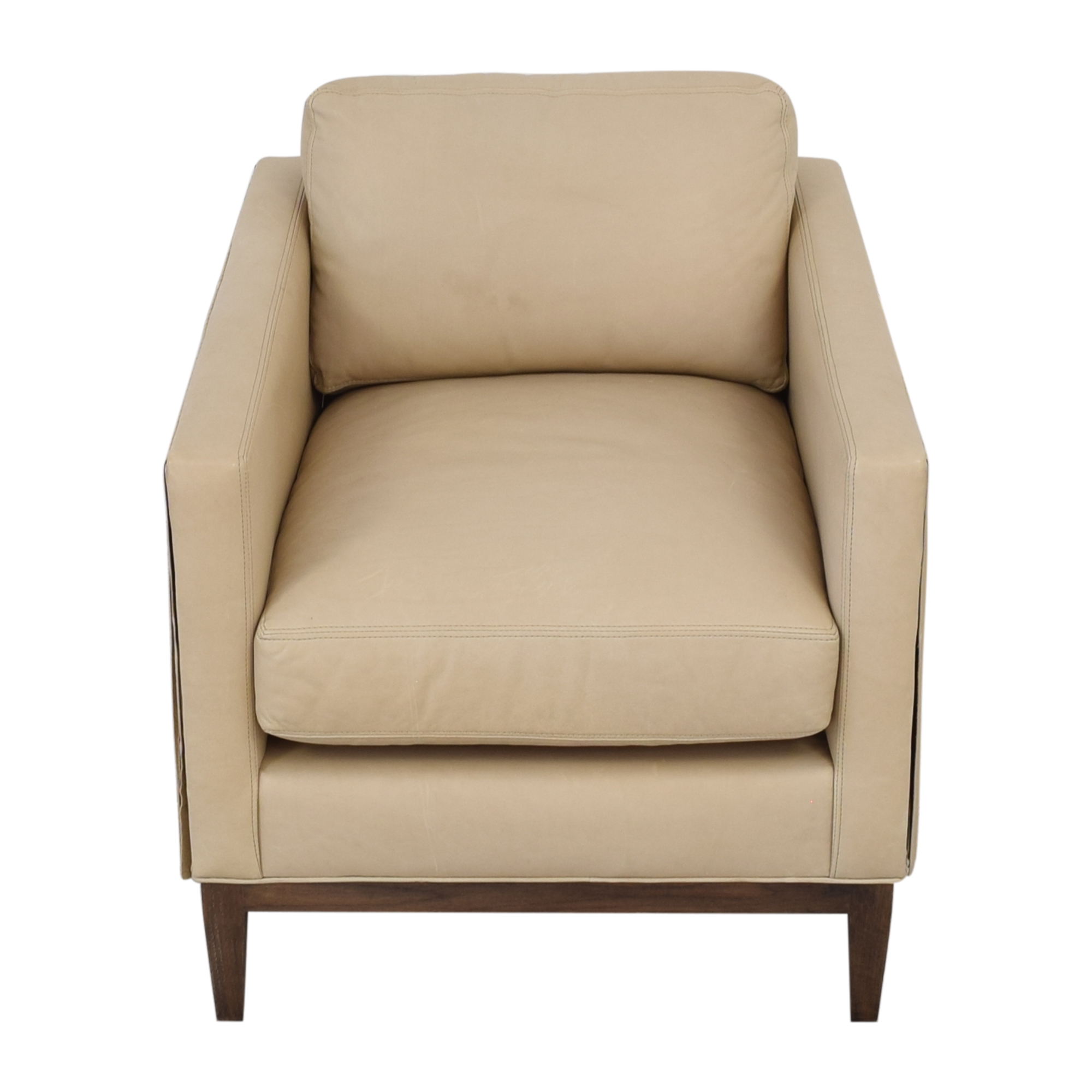 shop Lee Industries Leather Fringe Chair Lee Industries Accent Chairs
