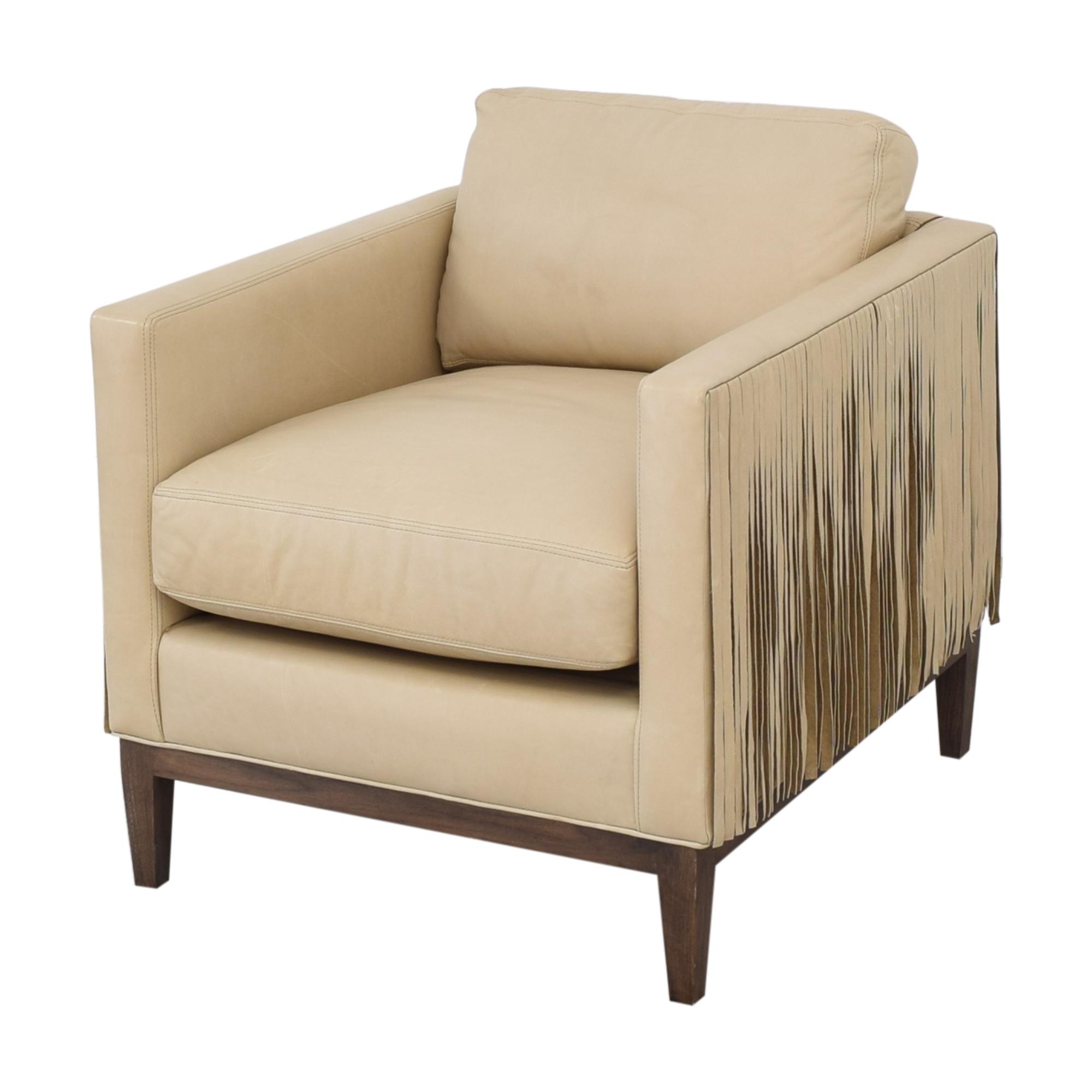 Lee Industries Lee Industries Leather Fringe Chair price