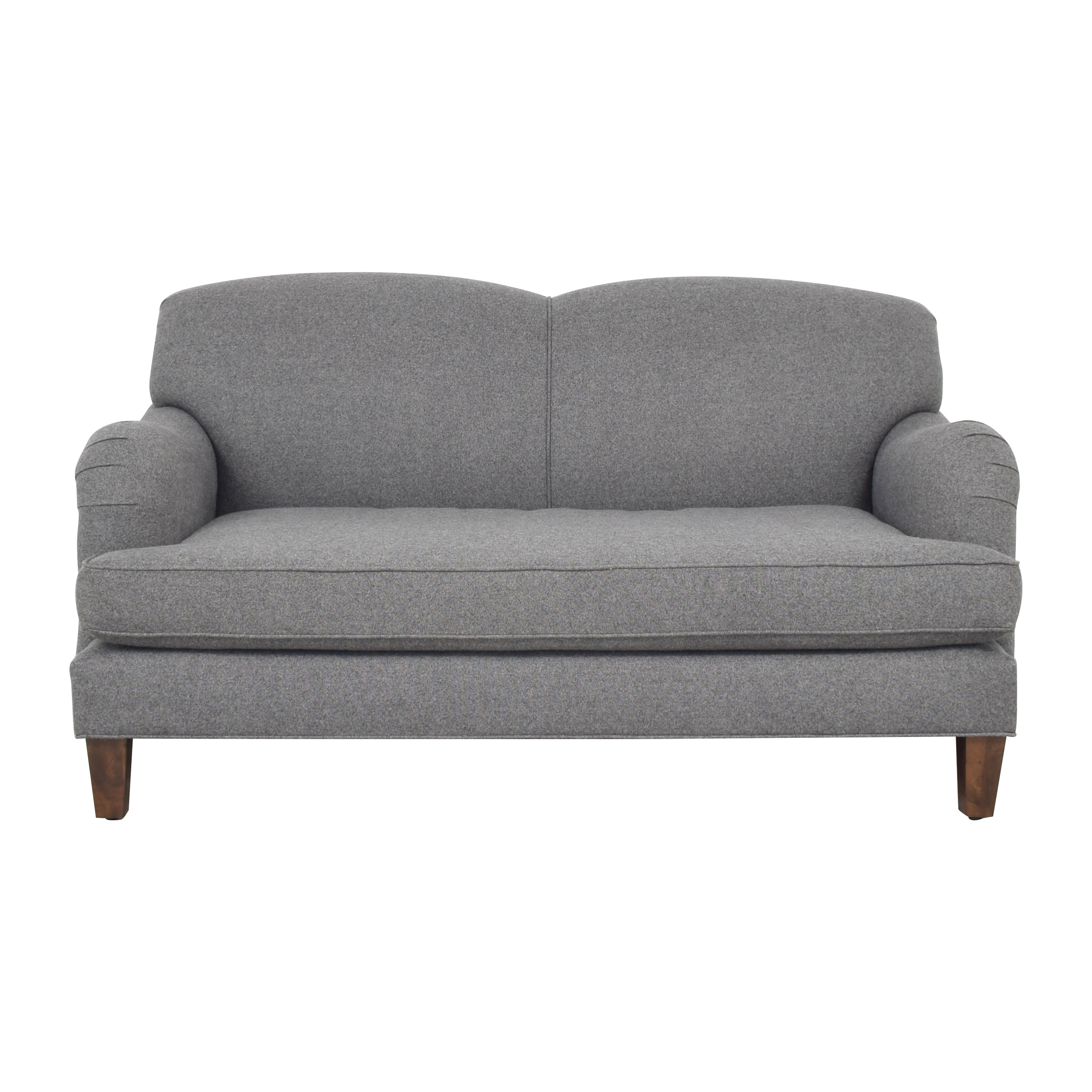 Roger + Chris Roger + Chris Basel Tight Back English Roll Arm Loveseat ma