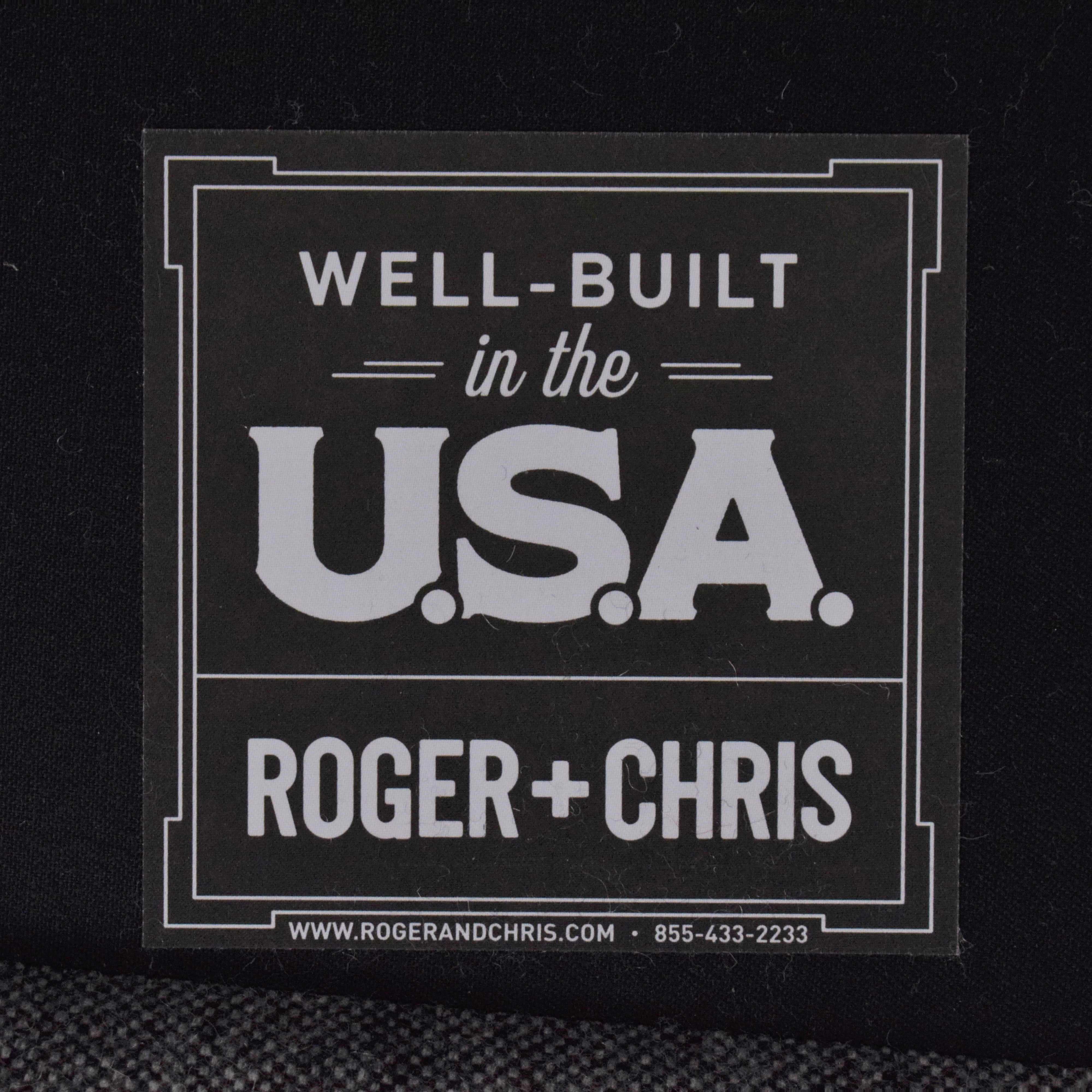 Roger + Chris Roger + Chris Basel Tight Back English Roll Arm Loveseat used