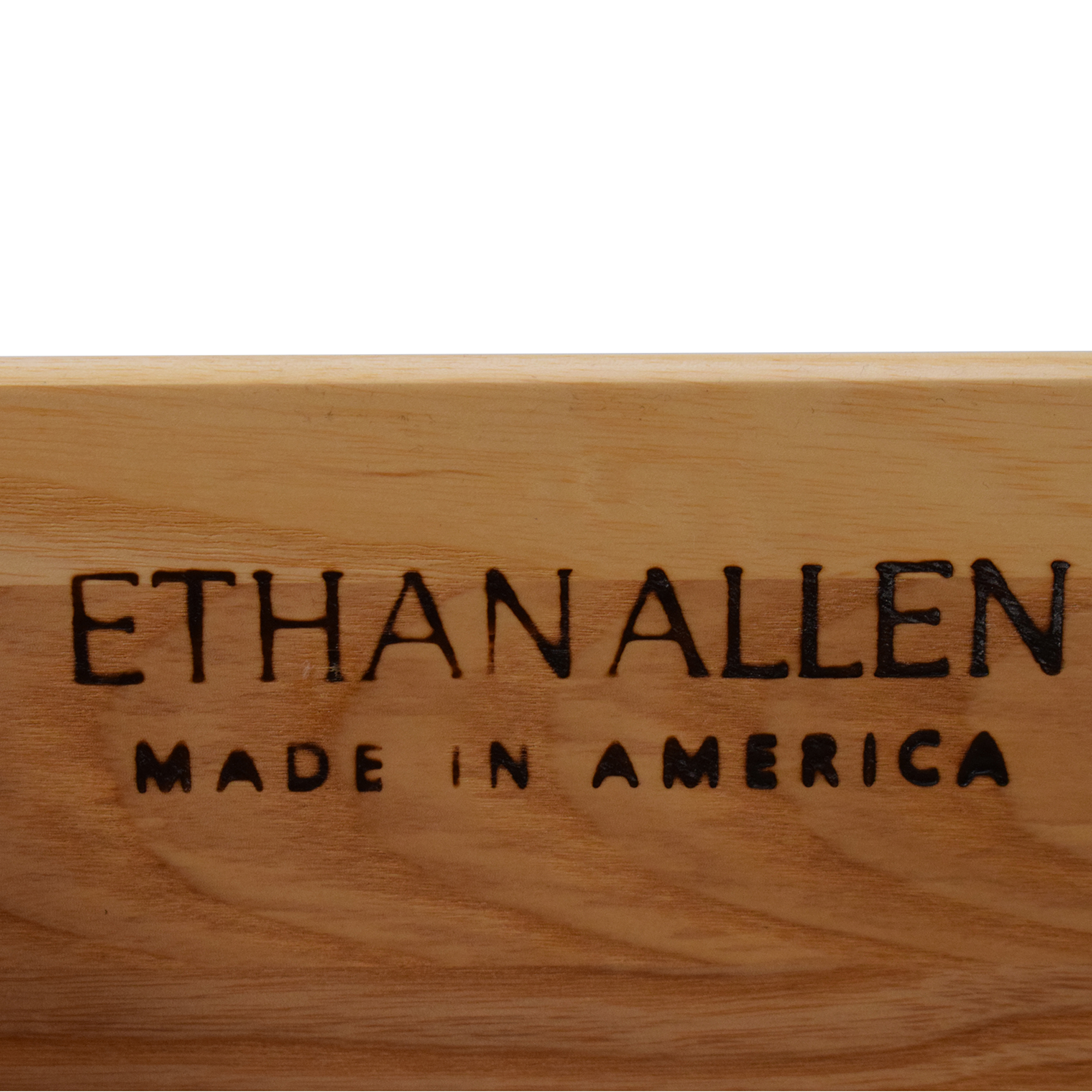 buy Ethan Allen Mid-Century Modern Style Nightstands Ethan Allen Tables