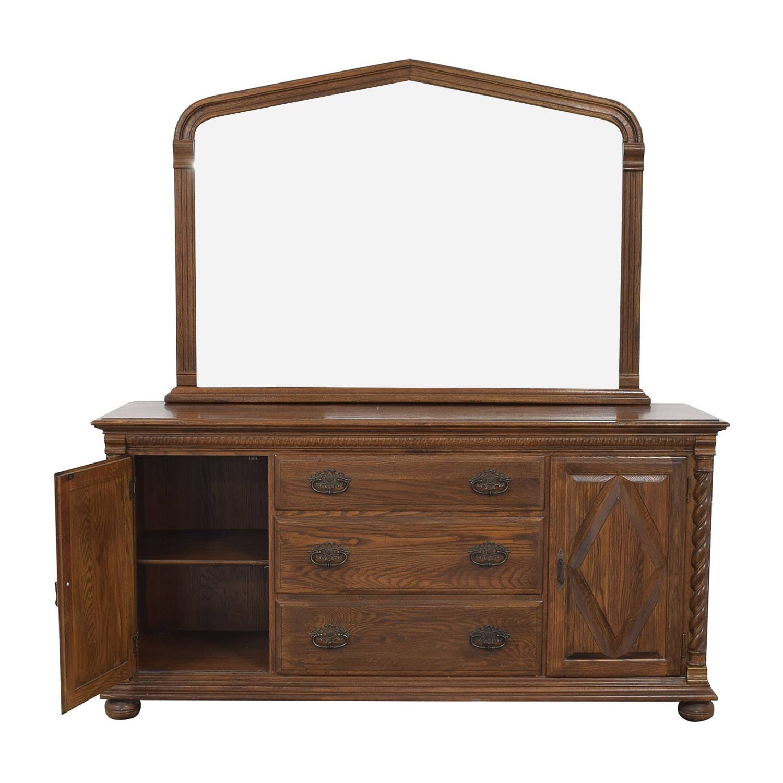 Ethan Allen Dresser with Mirror sale