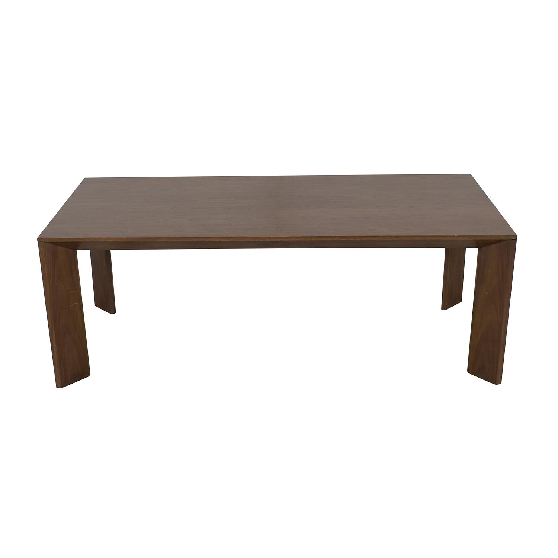 Restoration Hardware Arles Grey Walnut Dinning Table / Dinner Tables
