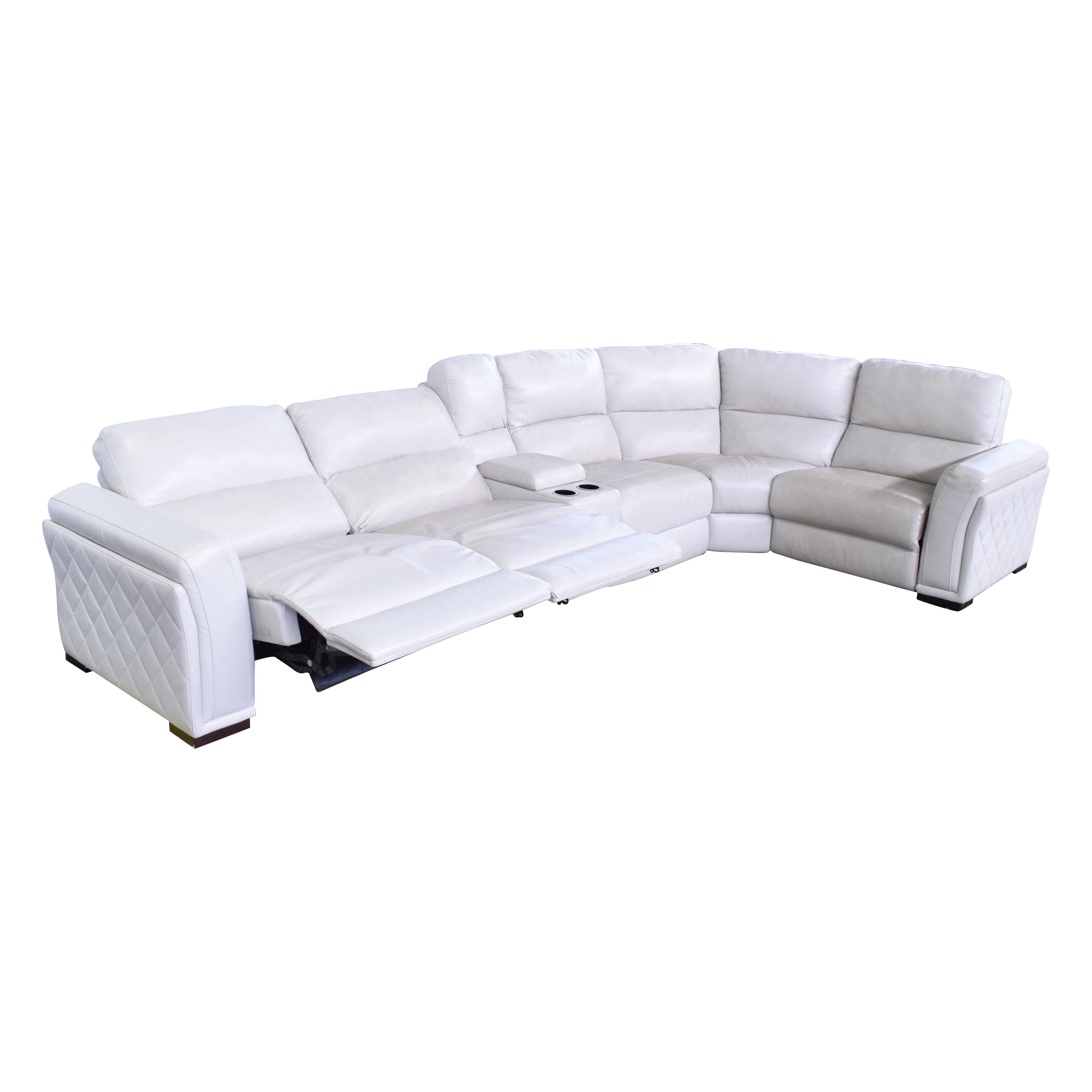 Macy's Macy's Recliner Wedge Sectional Sectionals