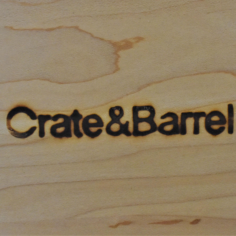 Crate & Barrel Crate & Barrel Wooden Queen Bed for sale