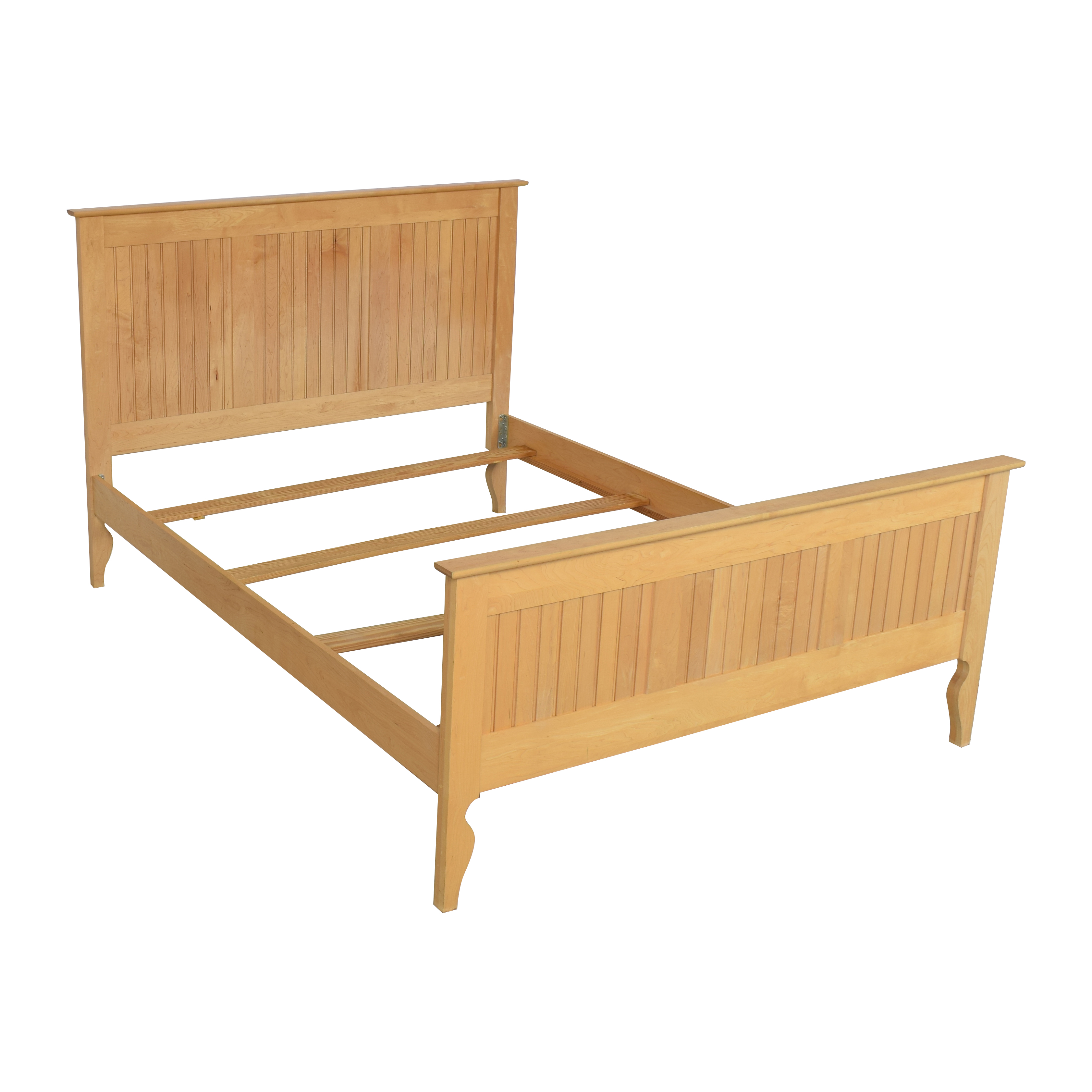 Crate & Barrel Crate & Barrel Wooden Queen Bed discount