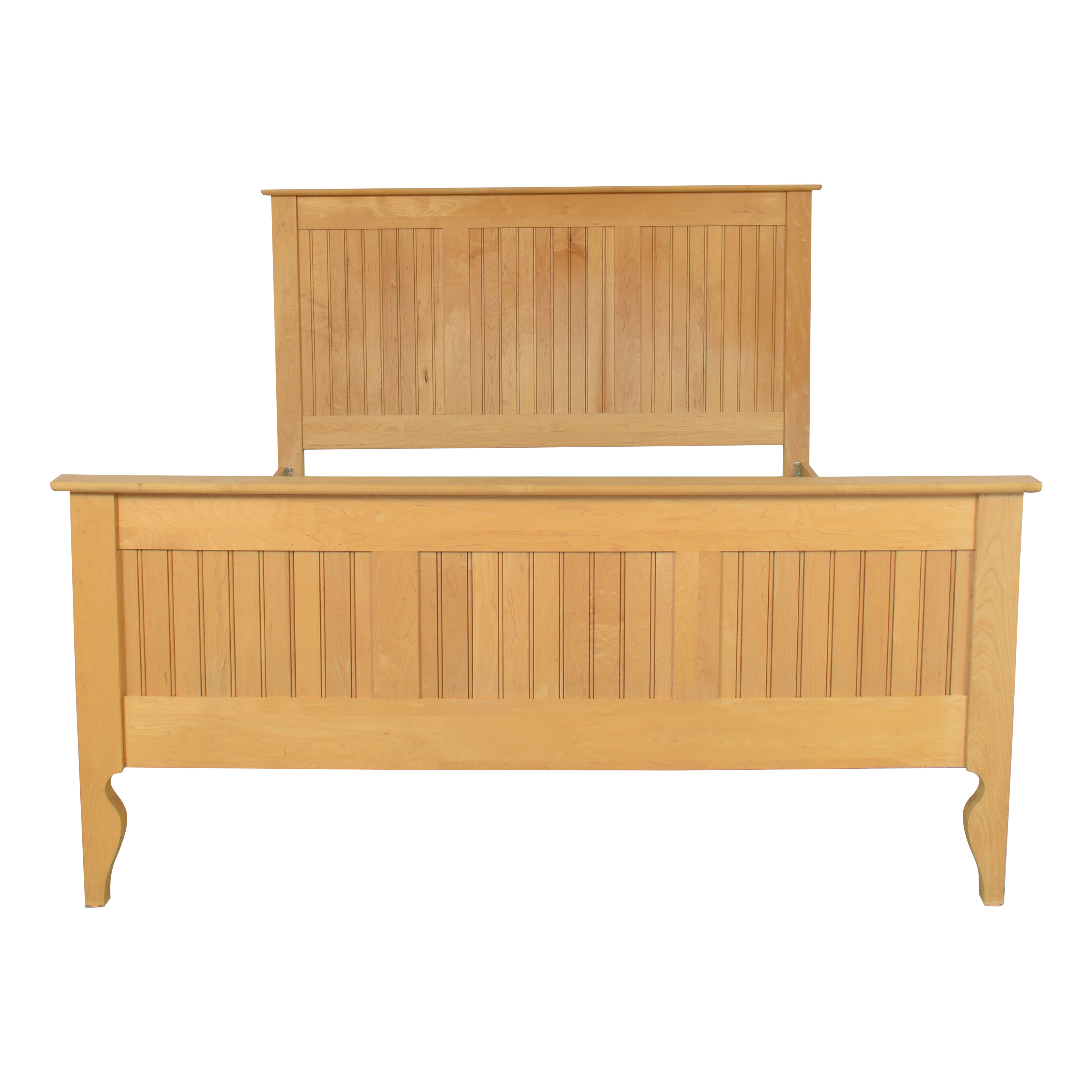 Crate & Barrel Crate & Barrel Wooden Queen Bed Bed Frames