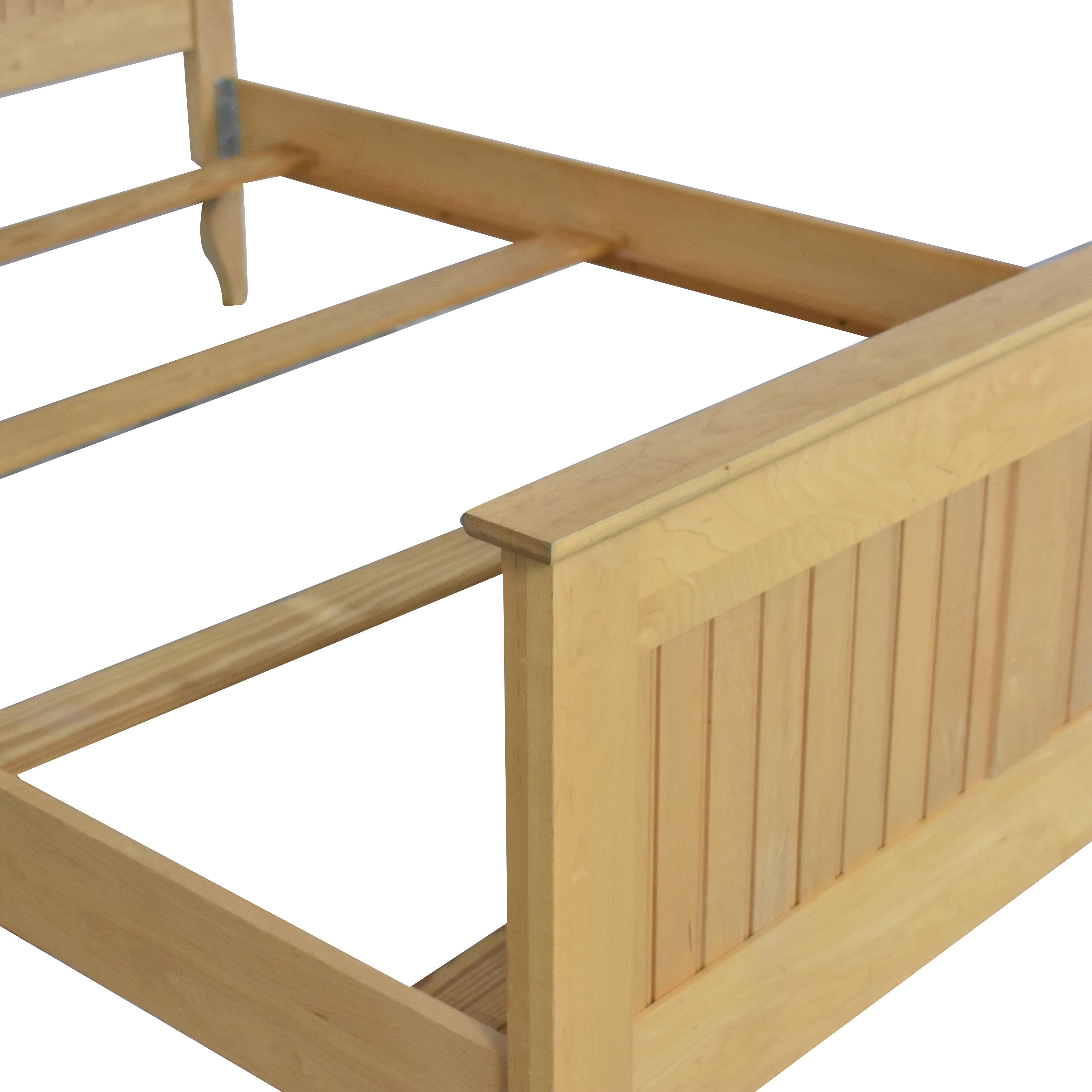 Crate & Barrel Crate & Barrel Wooden Queen Bed dimensions