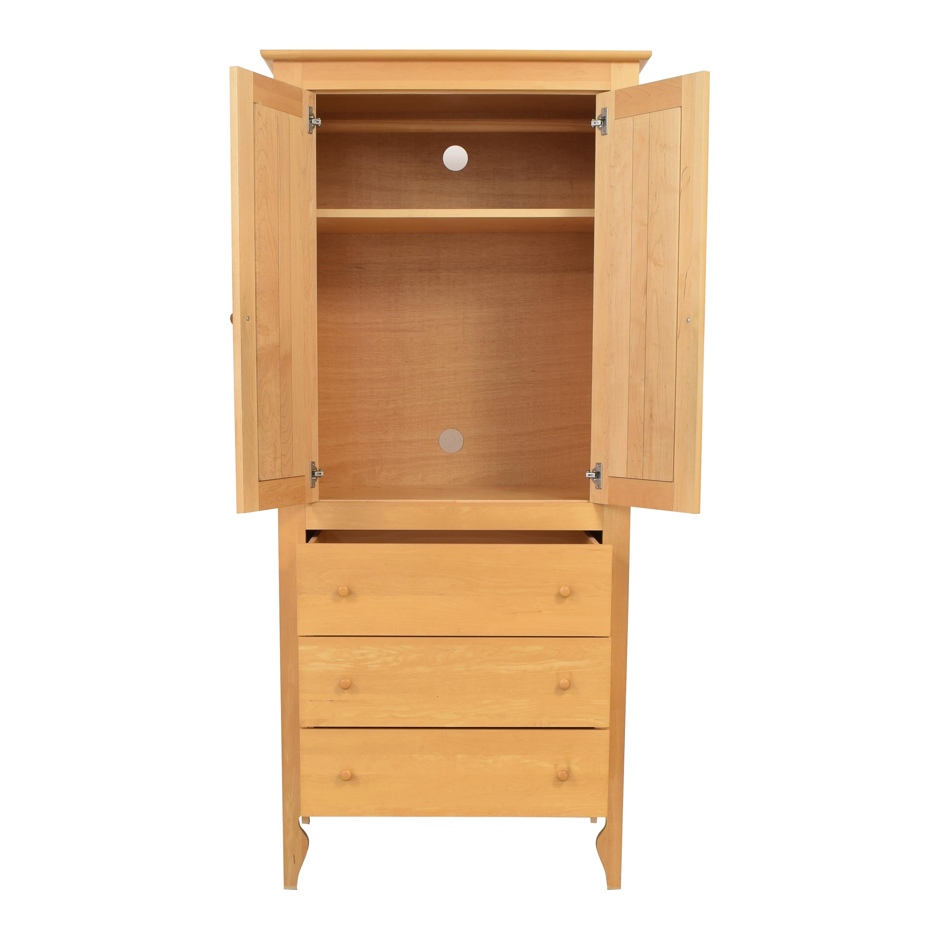buy Crate & Barrel Bedroom Armoire Crate & Barrel Storage