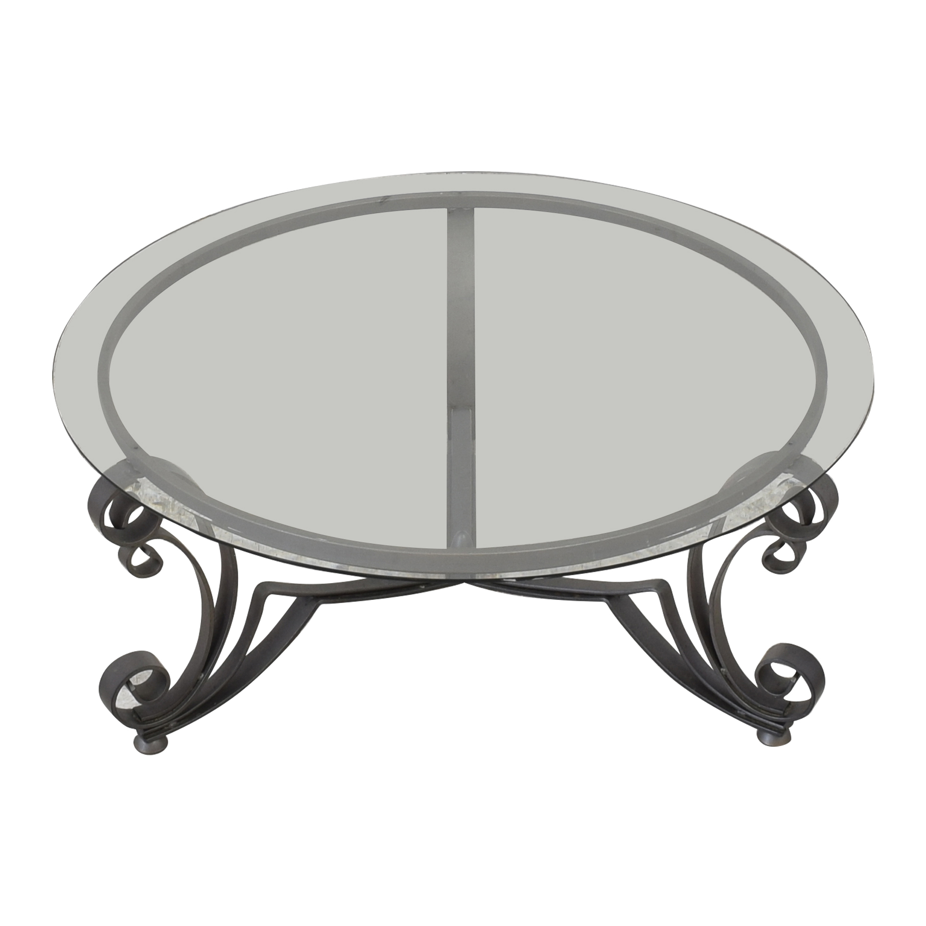 Bloomingdale's Art Deco Style Coffee Table ct