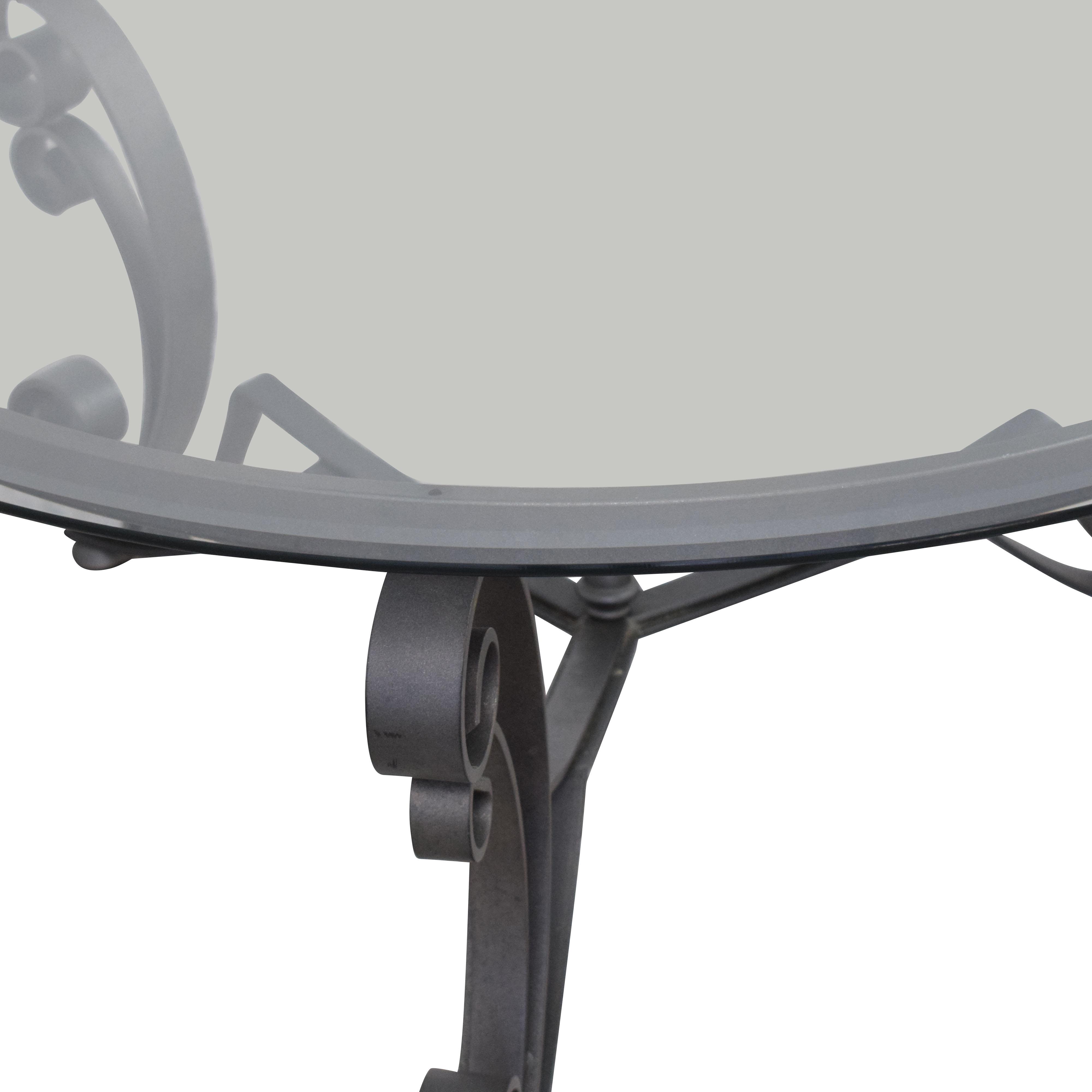 Bloomingdale's Art Deco Style Coffee Table on sale