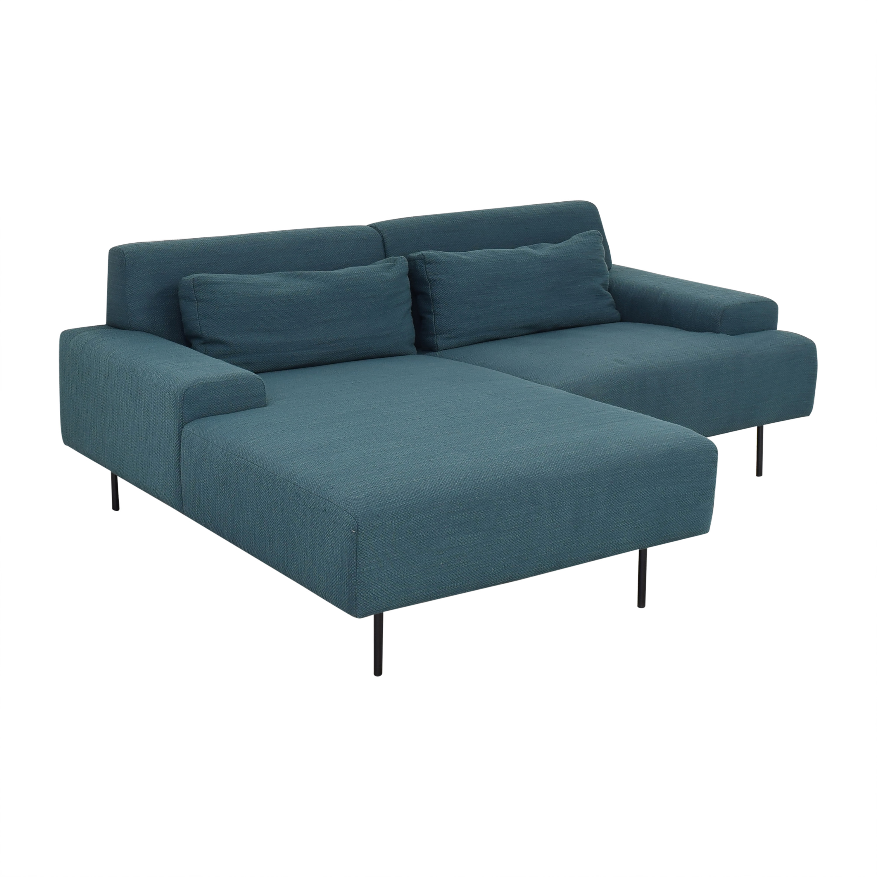 West Elm Beckham Chaise Sectional Sofa / Sectionals
