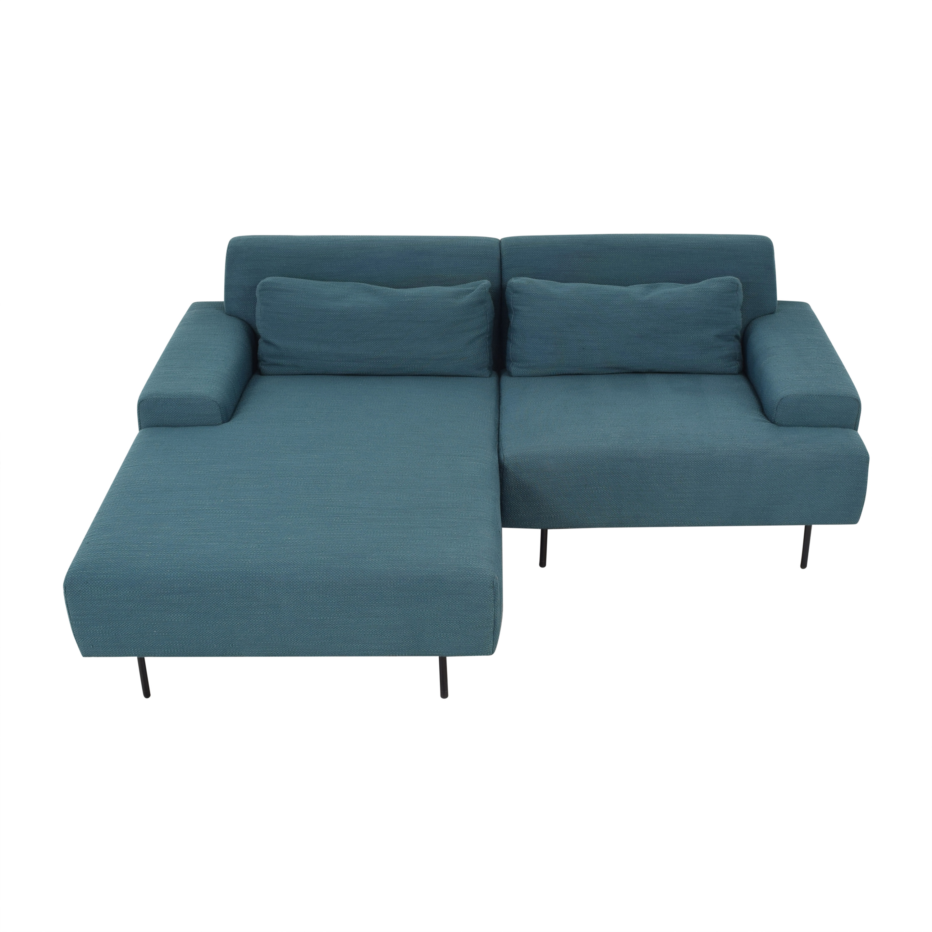 West Elm West Elm Beckham Chaise Sectional Sofa ct