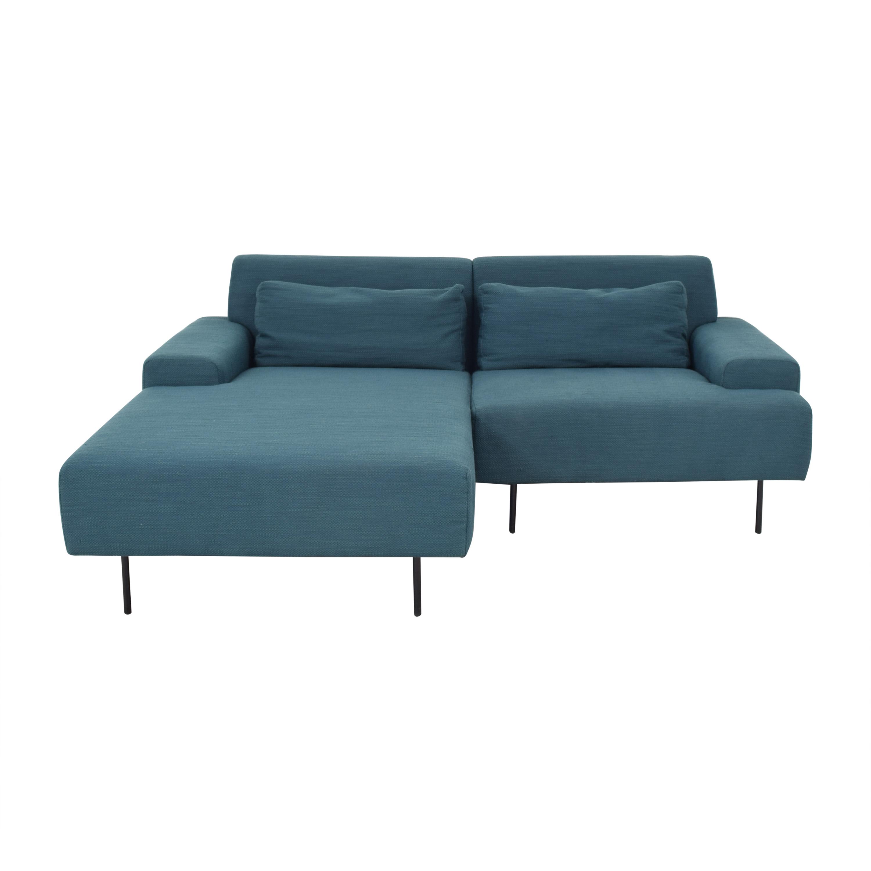 buy West Elm West Elm Beckham Chaise Sectional Sofa online