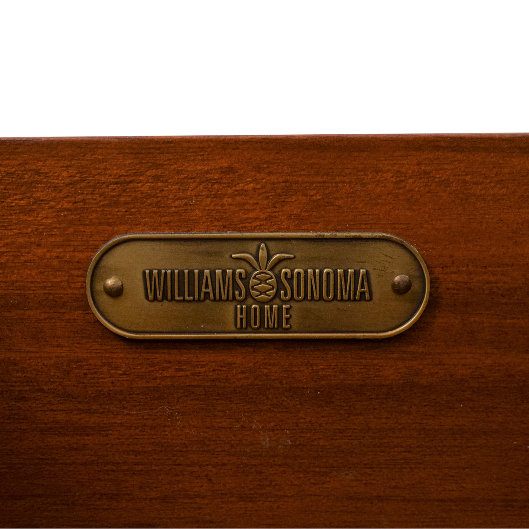 Williams Sonoma Willams Sonoma Campaign Style Nightstand Tables