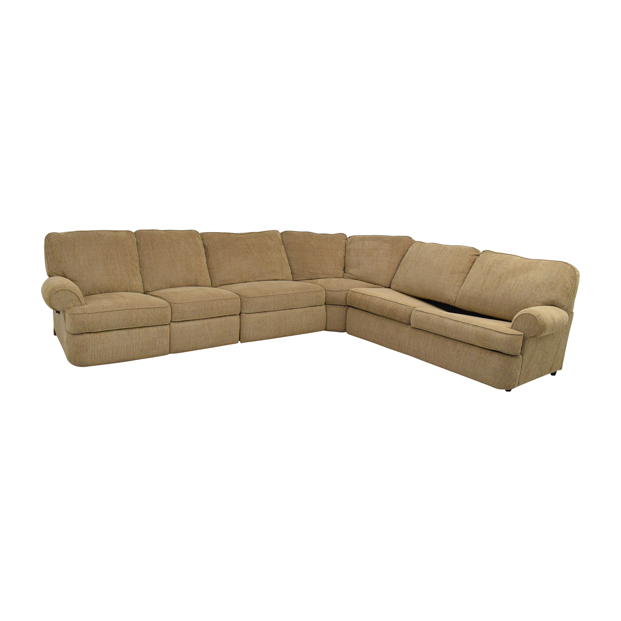 Berkline Reclining Sectional Full Size Sofa Bed / Sectionals