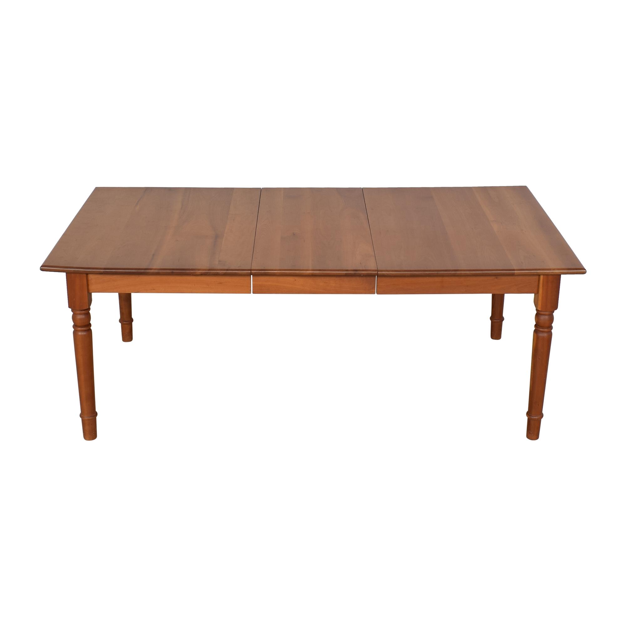 buy Asher Benjamin Studio Extended Dining Table Asher Benjamin Studio Tables