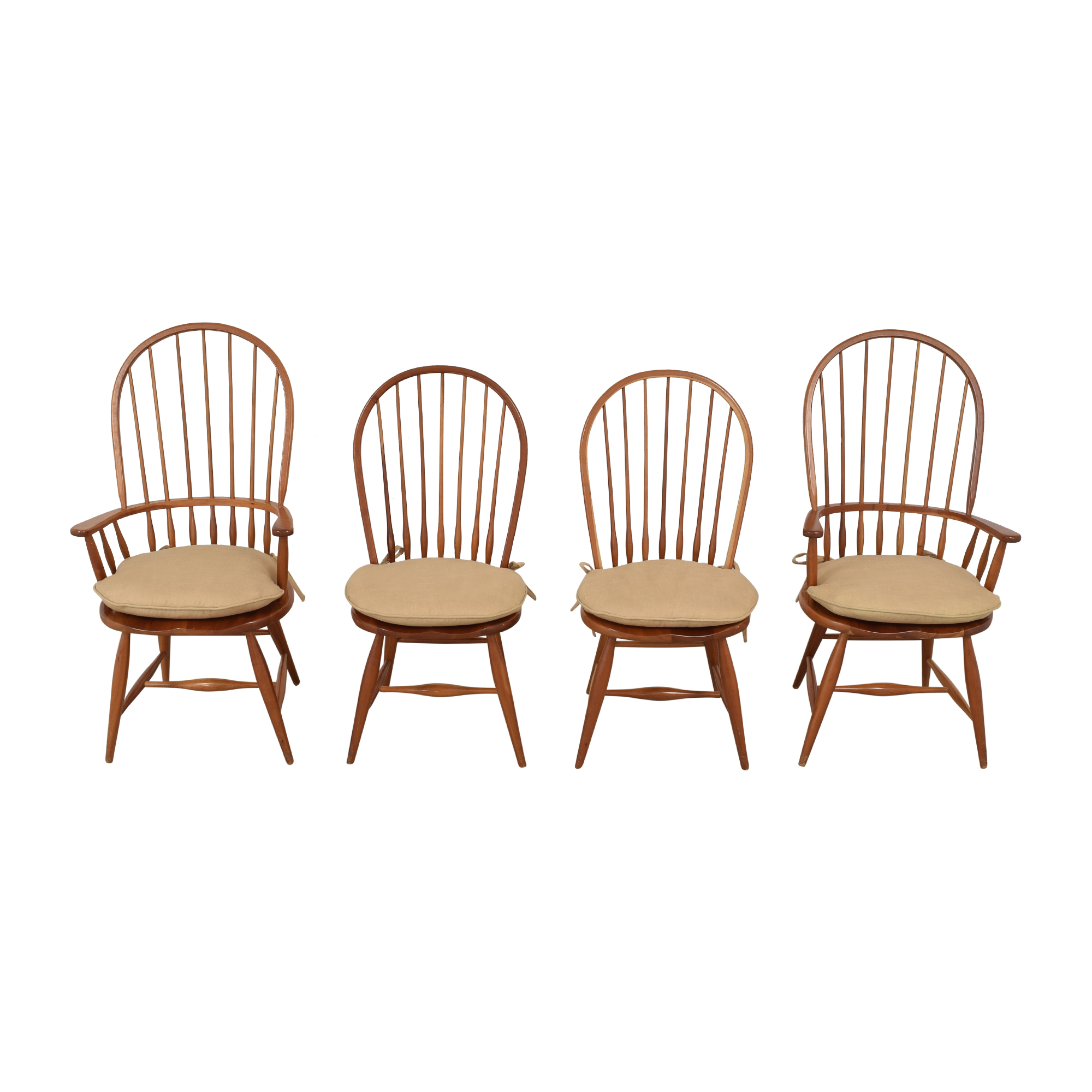 Asher Benjamin Studio Asher Benjamin Studio Windsor Back Dining Room Chairs