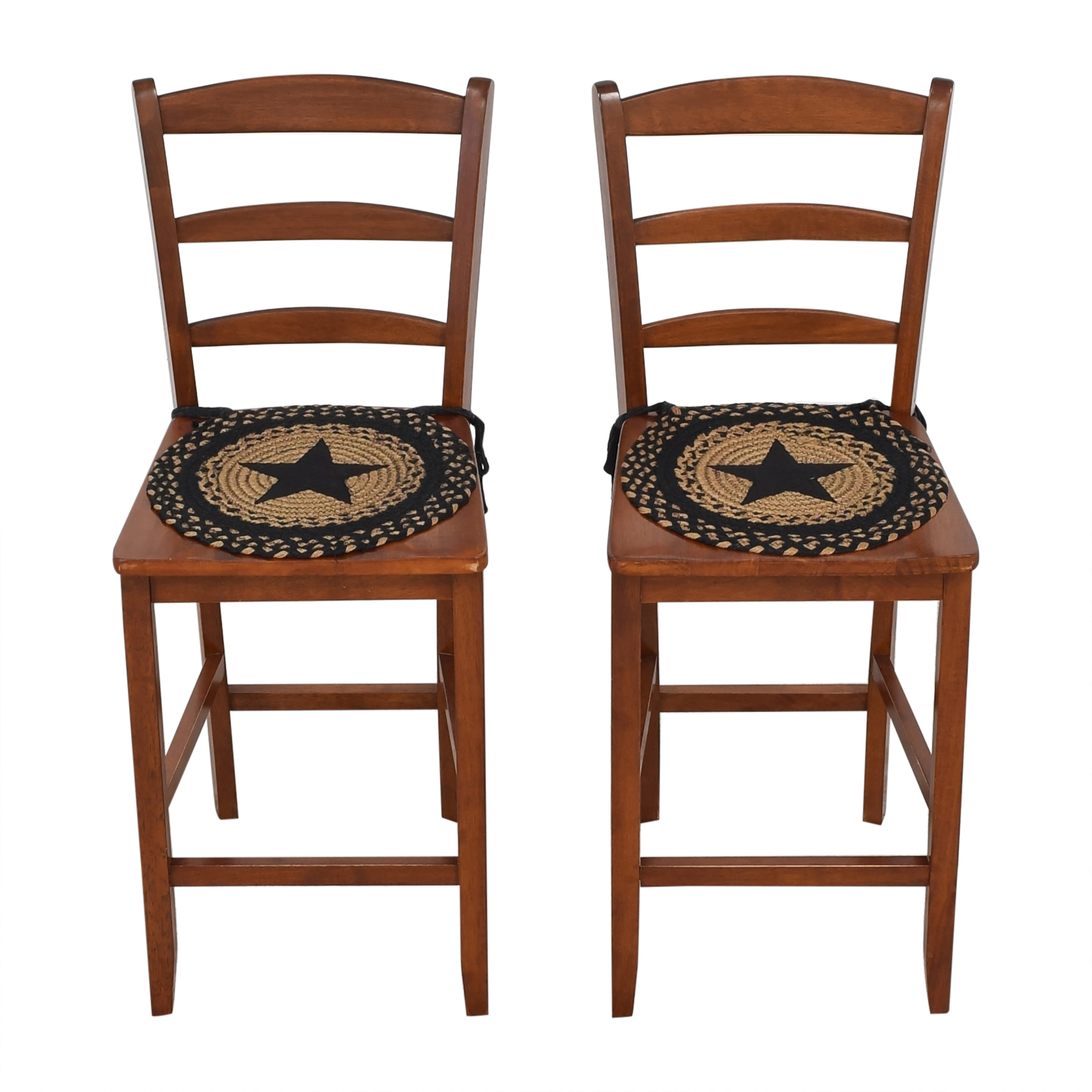 Winsome Wood Winsome Wood Albany Ladder Back Counter Stools