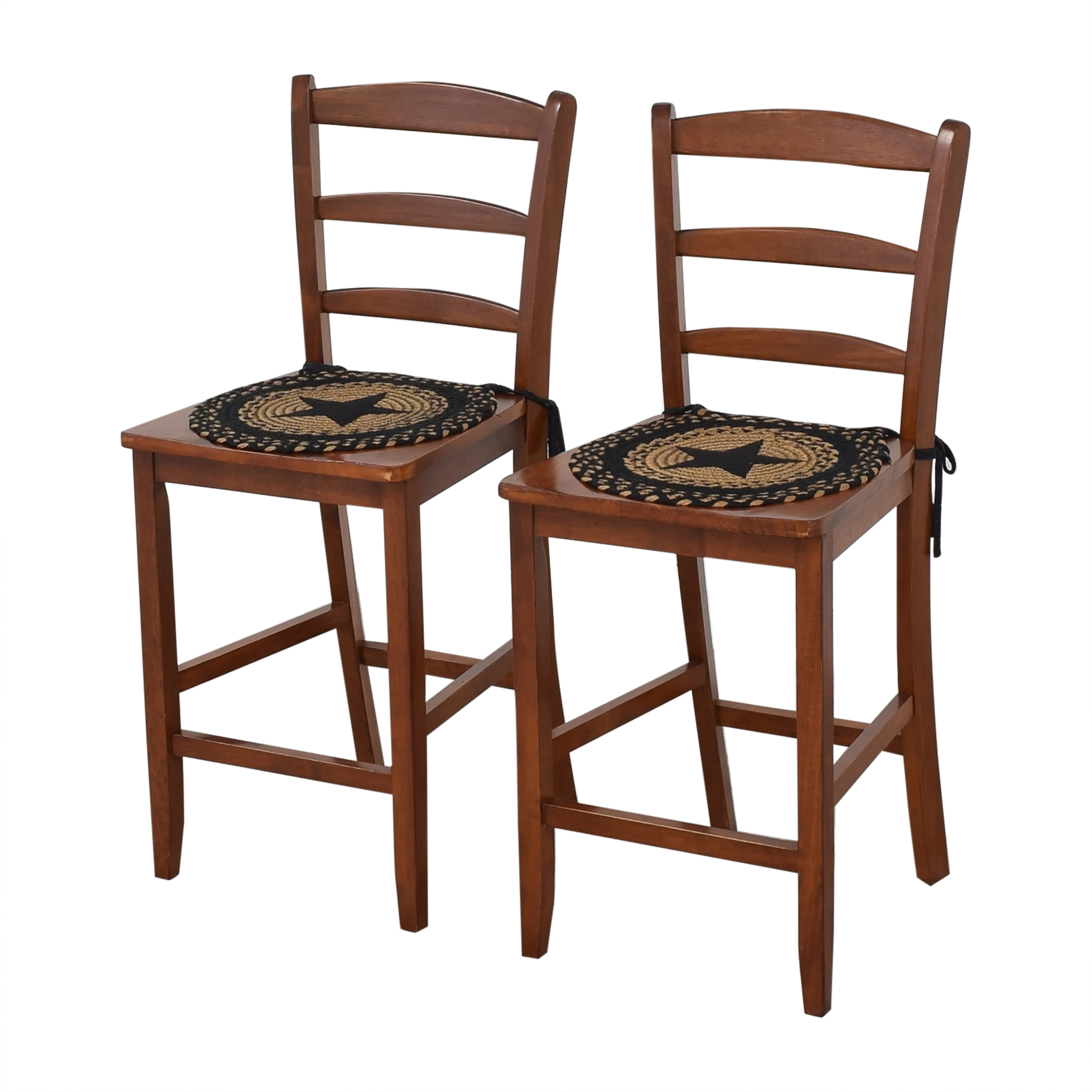 buy Winsome Wood Albany Ladder Back Counter Stools Winsome Wood Chairs