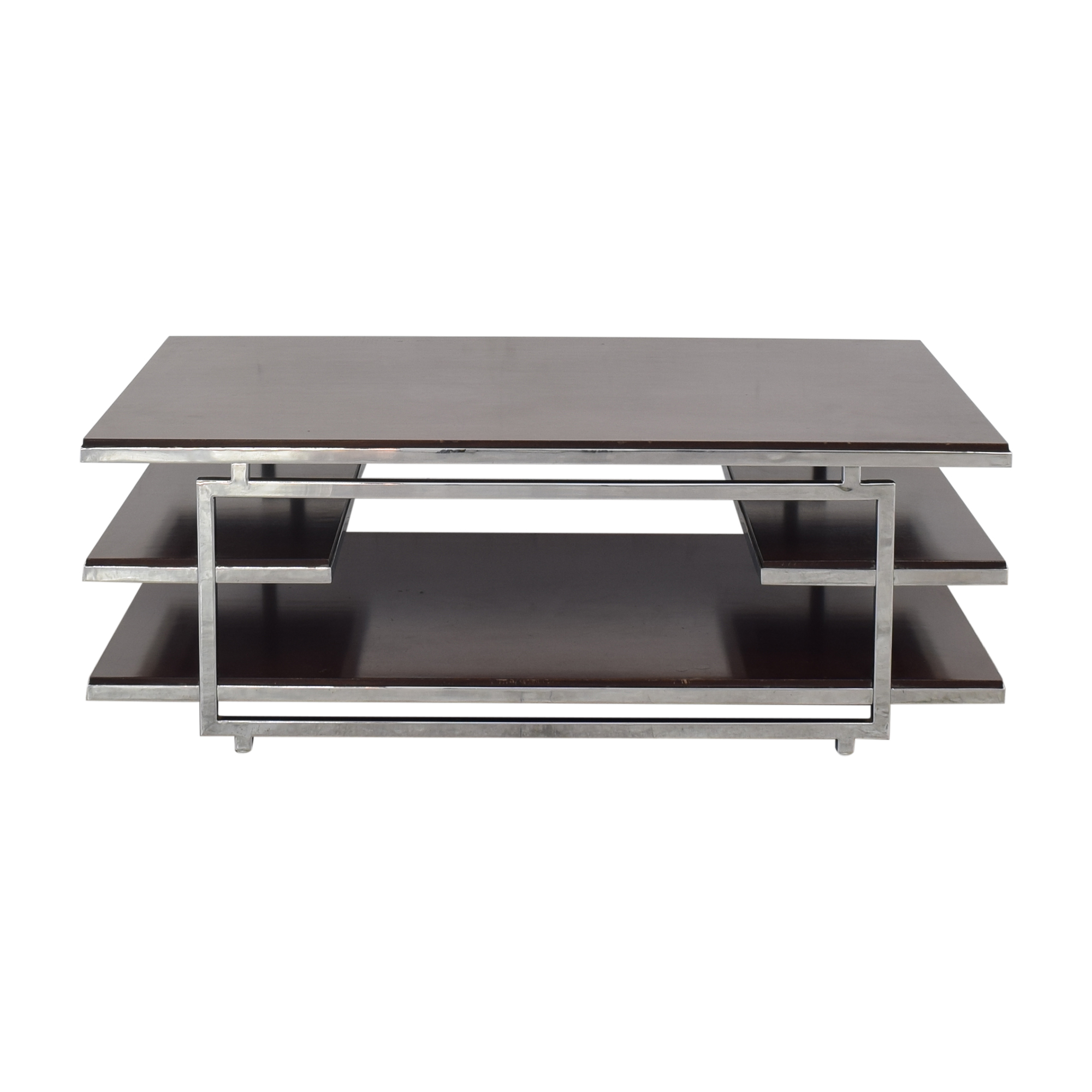 Z Gallerie Z Gallerie Three Tier Coffee Table nj