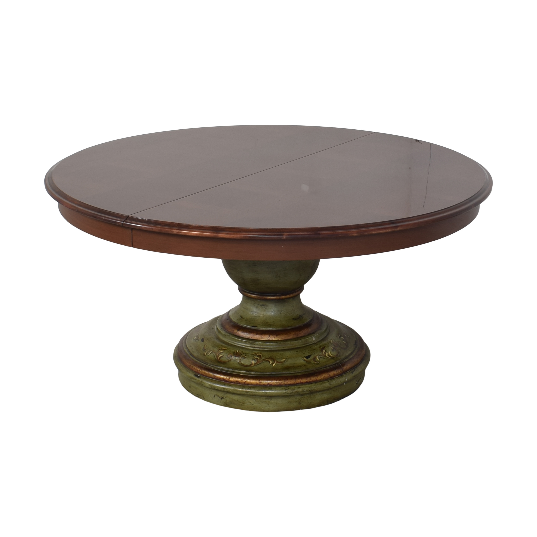 Custom Pedestal Round Dining Table nj