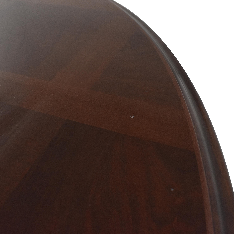 Custom Pedestal Round Dining Table / Dinner Tables