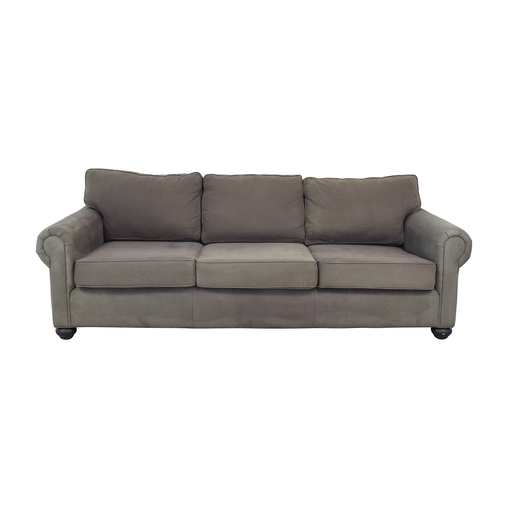 shop Restoration Hardware Original Lancaster Upholstered Sofa Restoration Hardware