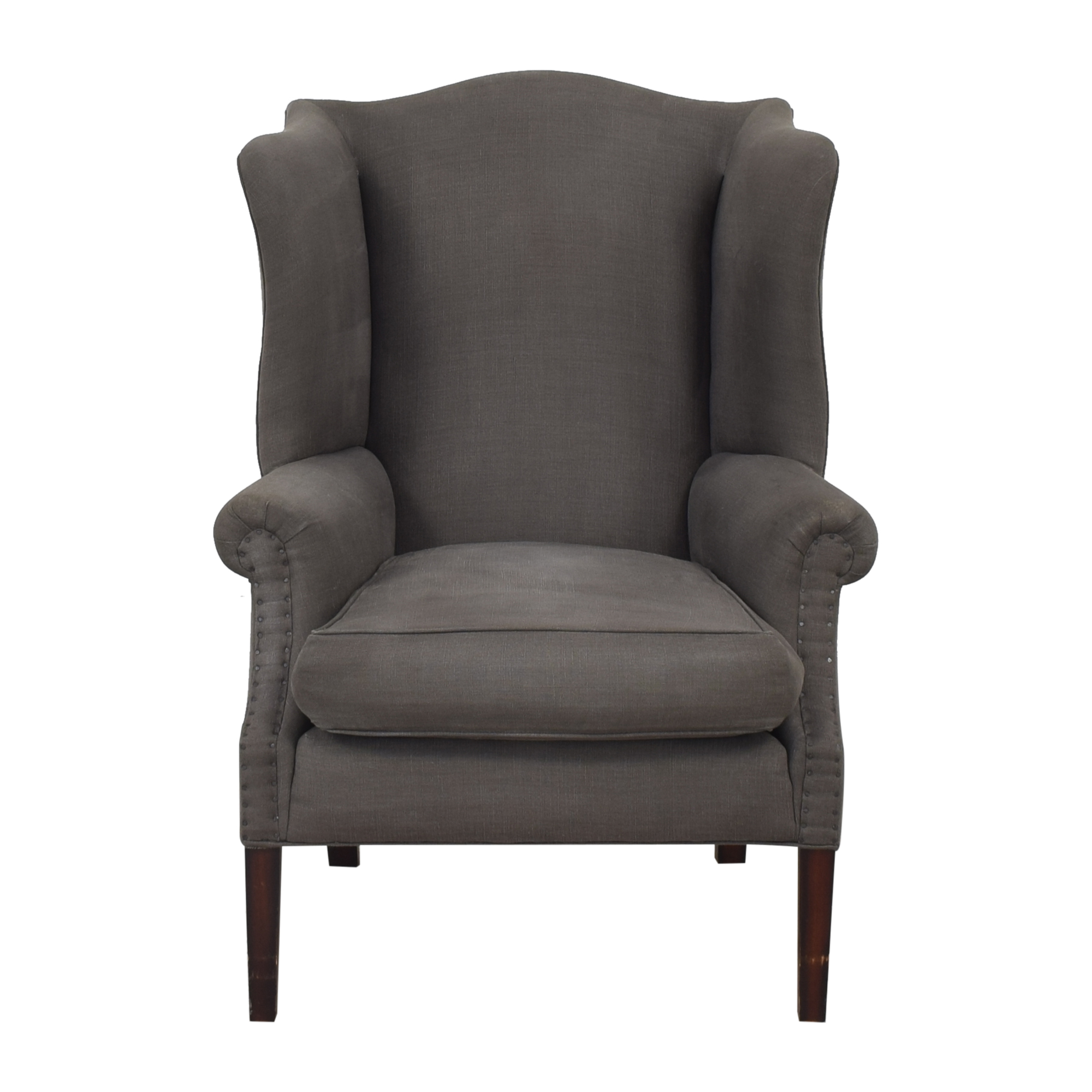 Cisco Brothers Cisco Brothers Thorn Tail Wing Back Chair ct